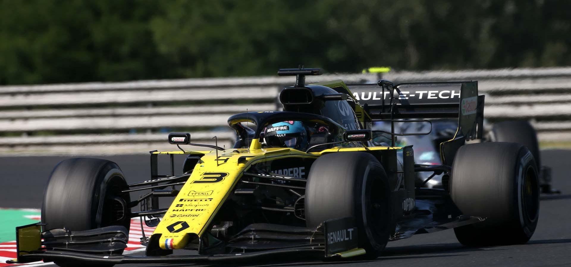 Daniel Ricciardo (AUS) Renault F1 Team RS19. Hungarian Grand Prix, Sunday 4th August 2019. Budapest, Hungary.