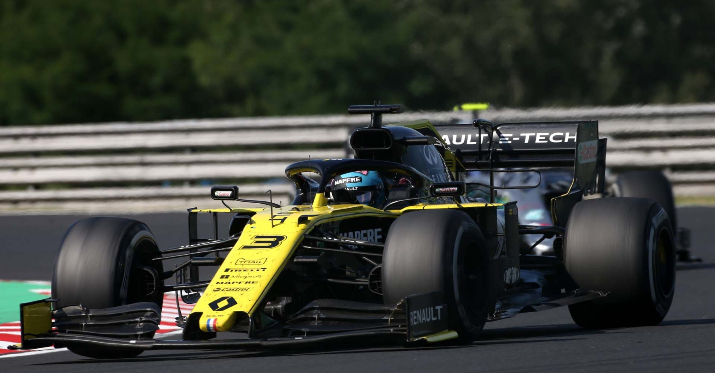 Daniel Ricciardo (AUS) Renault F1 Team RS19. Hungarian Grand Prix, Sunday 4th August 2019. Budapest, Hungary.