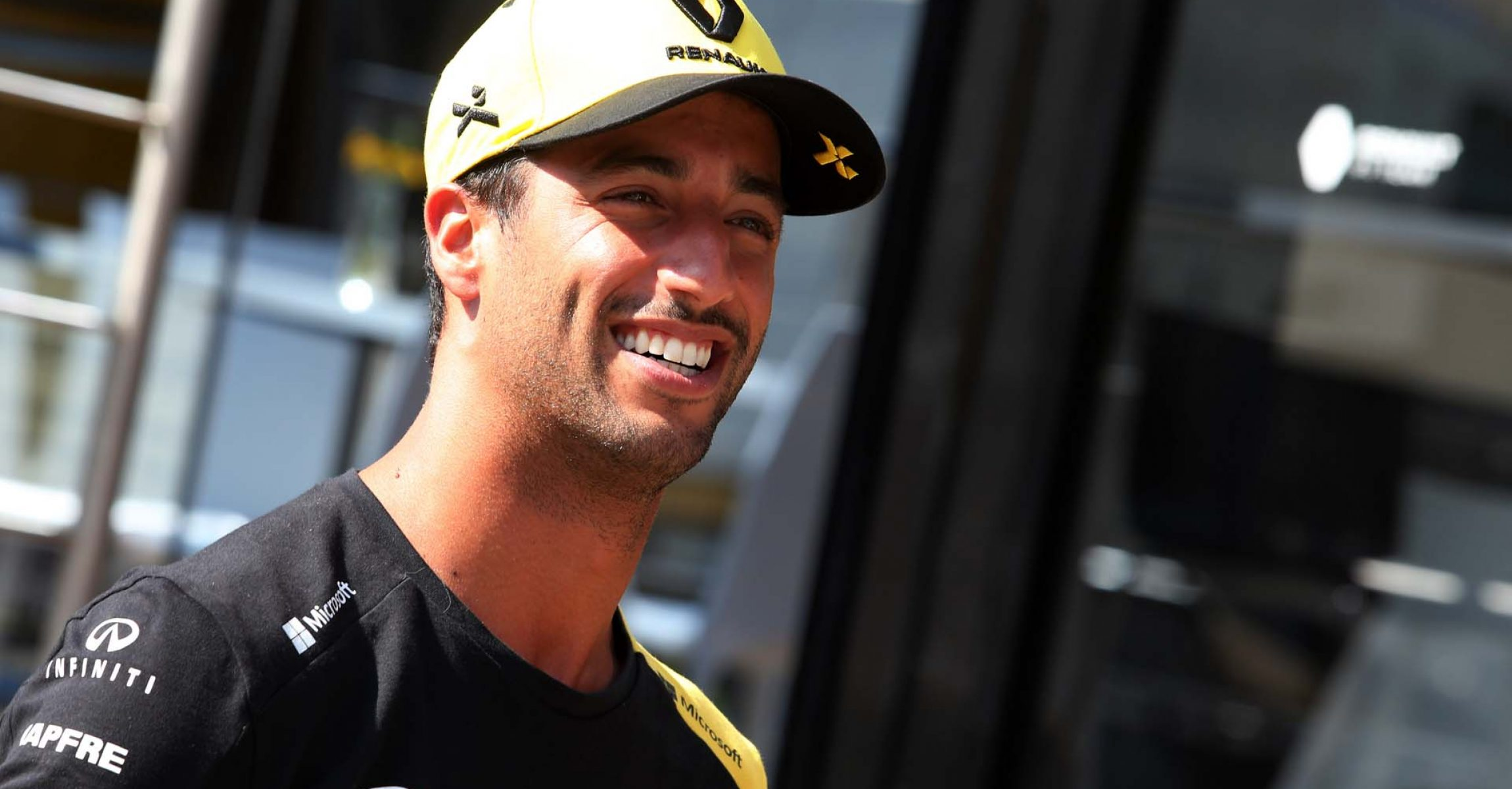 Daniel Ricciardo (AUS) Renault F1 Team. Hungarian Grand Prix, Thursday 1st August 2019. Budapest, Hungary.