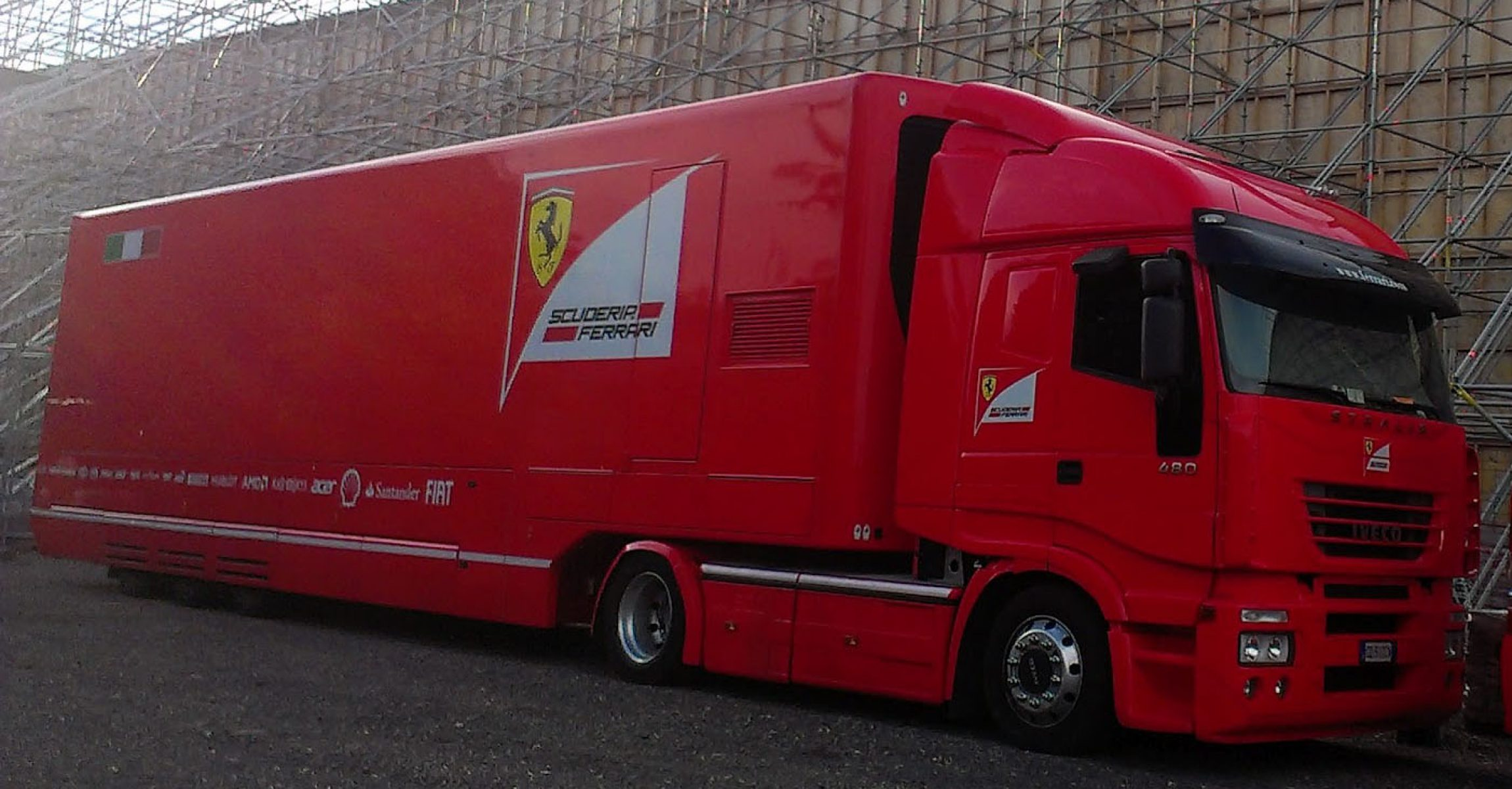 Ferrari truck, Hungaroring,