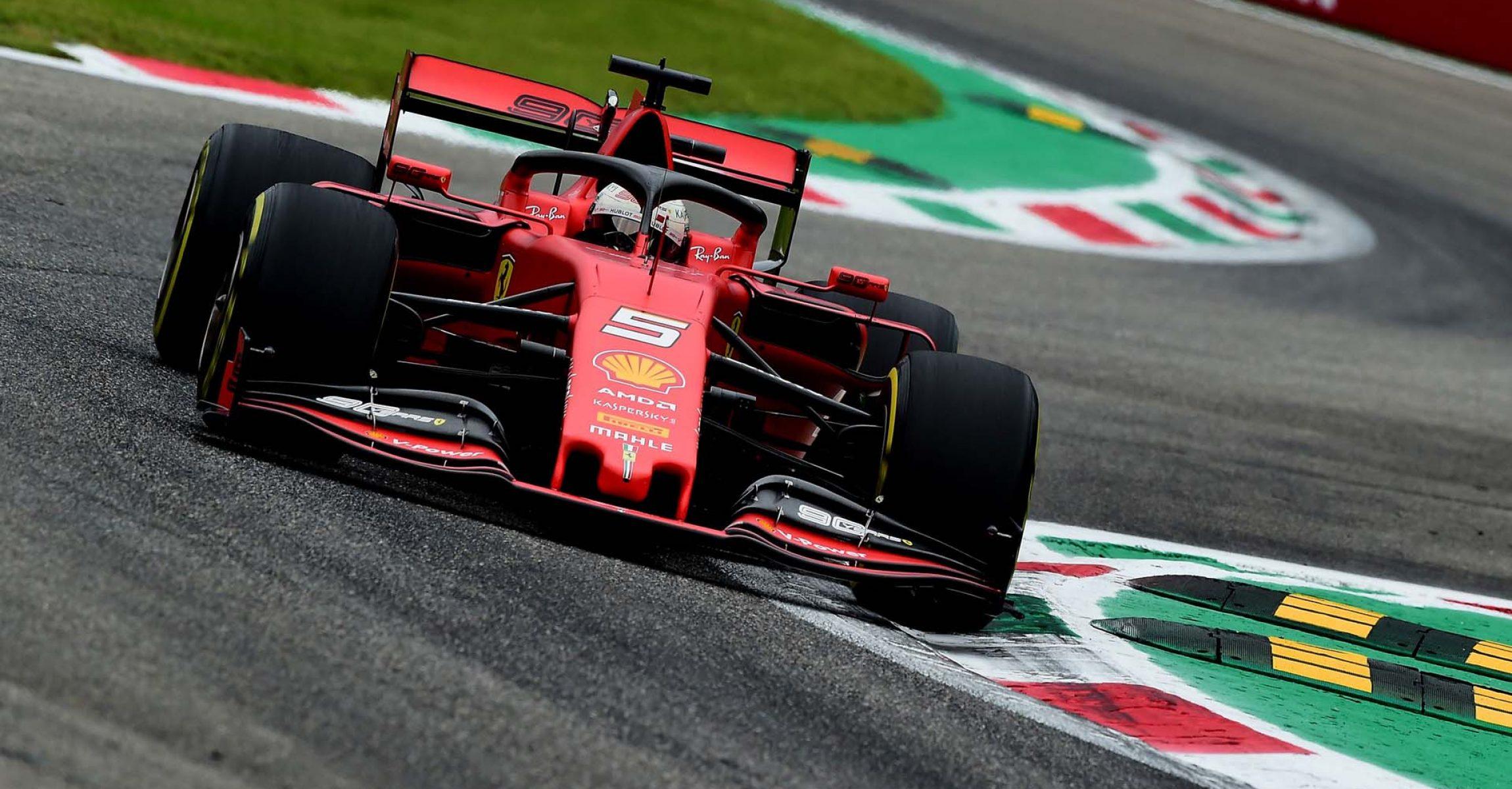 GP ITALIA  F1/2019 -  VENERDI 06/09/2019   credit: @Scuderia Ferrari Press Office Italy, Italian Grand Prix 2019, Monza,  Sebastian Vettel Ferrari
