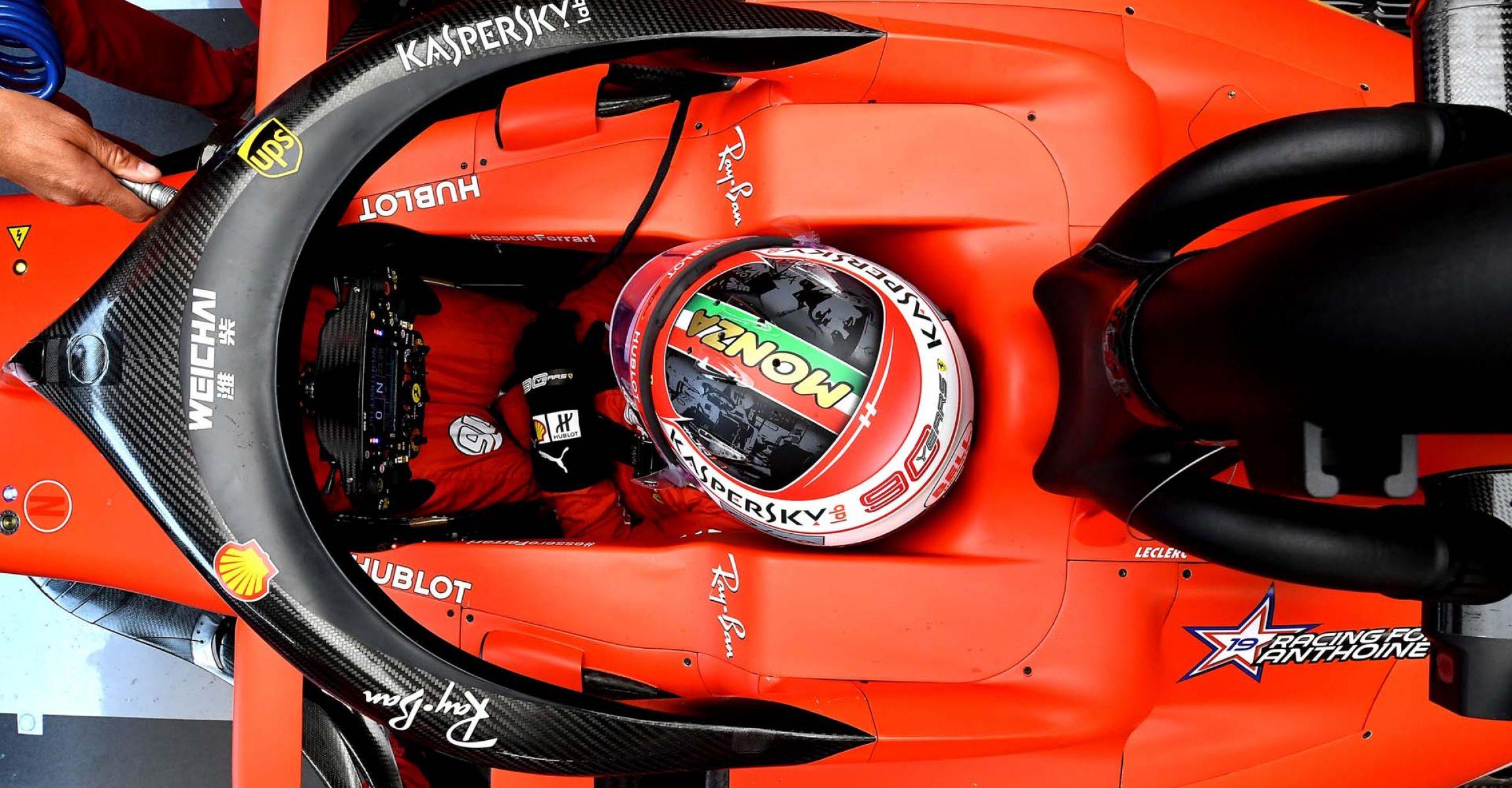 GP ITALIA F1/2019 - VENERDI 06/09/2019 credit: @Scuderia Ferrari Press Office Charles Leclerc, Ferrari Italy, Italian Grand Prix 2019, Monza,