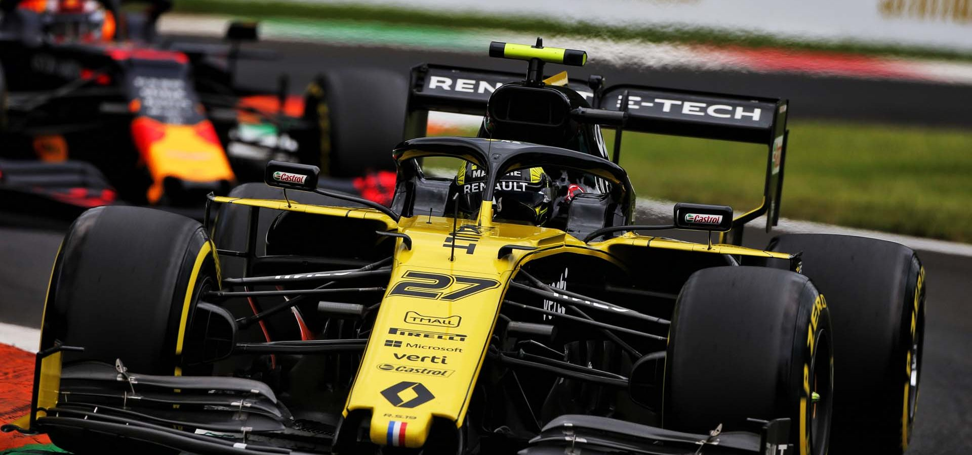 Nico Hülkenberg (GER) Renault F1 Team RS19. Italian Grand Prix, Friday 6th September 2019. Monza Italy. Hülkenberg