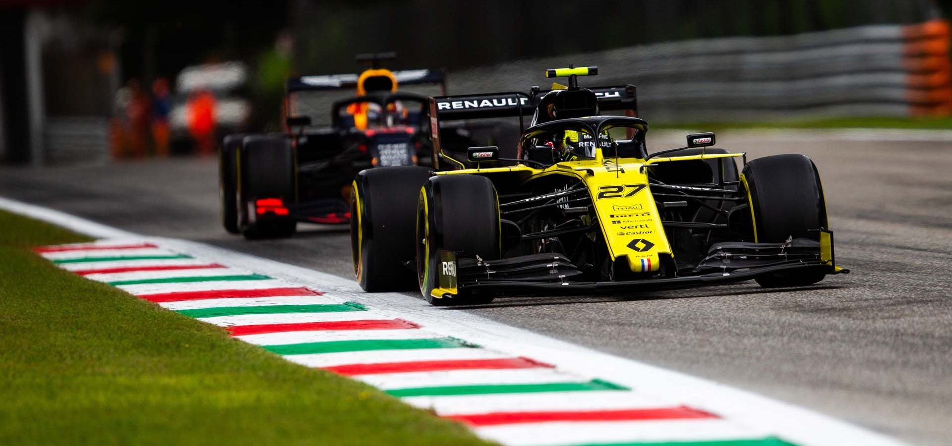 Nico Hülkenberg (GER) Renault F1 Team RS19. Italian Grand Prix, Friday 6th September 2019. Monza Italy.