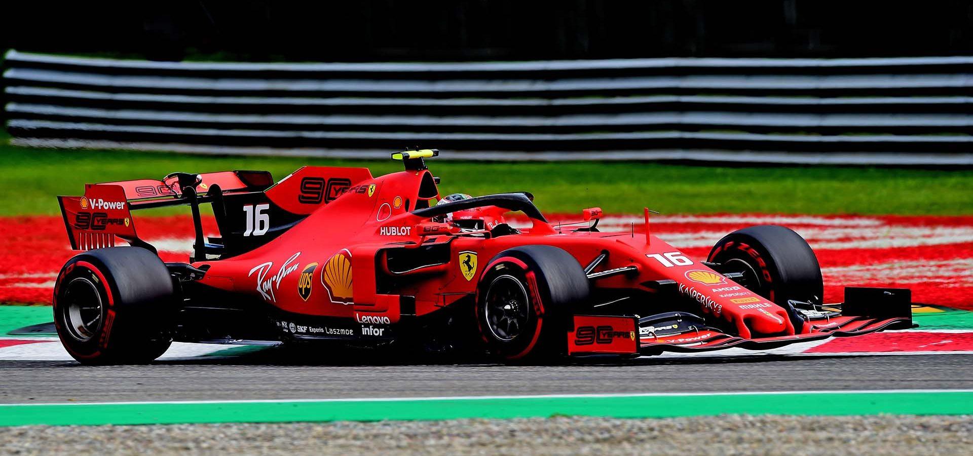 GP ITALIA  F1/2019 -  SABATO 07/09/2019 credit: @Scuderia Ferrari Press Office Charles Leclerc Ferrari