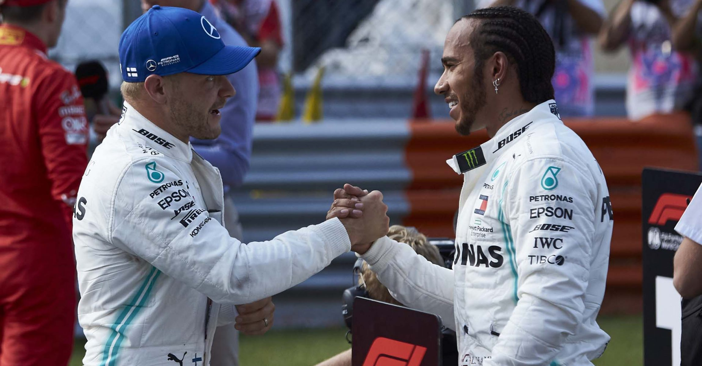 2019 Italian Grand Prix, Saturday - Steve Etherington Lewis Hamilton Valtteri Bottas Mercedes
