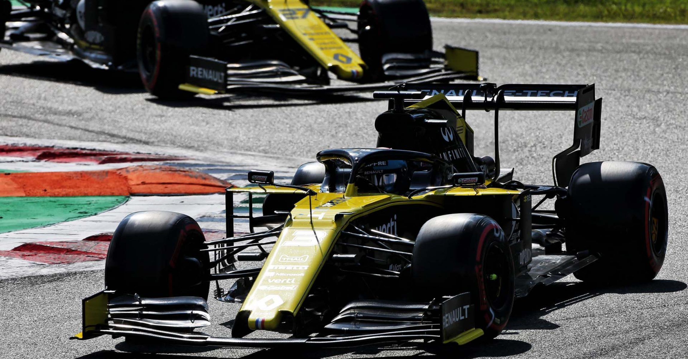 Daniel Ricciardo (AUS) Renault F1 Team RS19. Italian Grand Prix, Saturday 7th September 2019. Monza Italy.