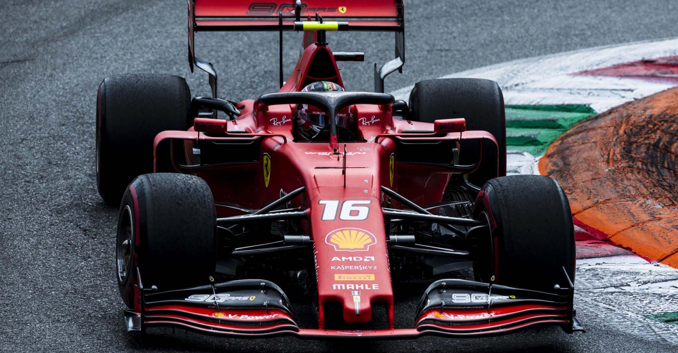 Charles Leclerc, Ferrari, Monza