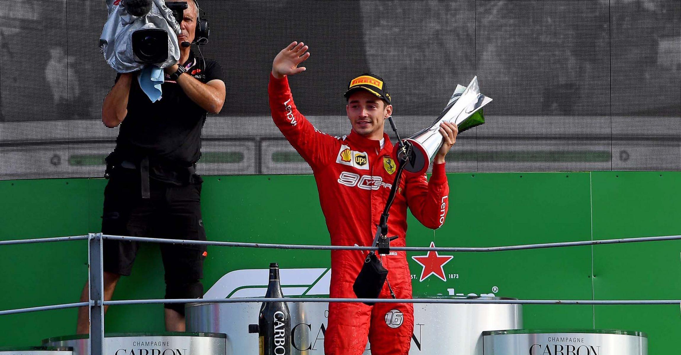 GP ITALIA F1/2019 - DOMENICA 08/09/2019 credit: @Scuderia Ferrari Press Office Ferrari, Sebastian Vettel