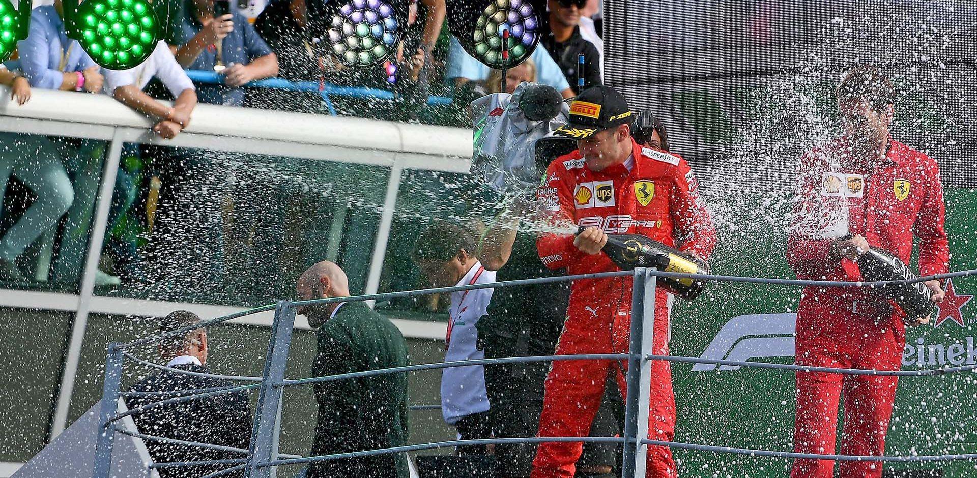 GP ITALIA  F1/2019 -  DOMENICA 08/09/2019   credit: @Scuderia Ferrari Press Office Charles Leclerc Ferrari