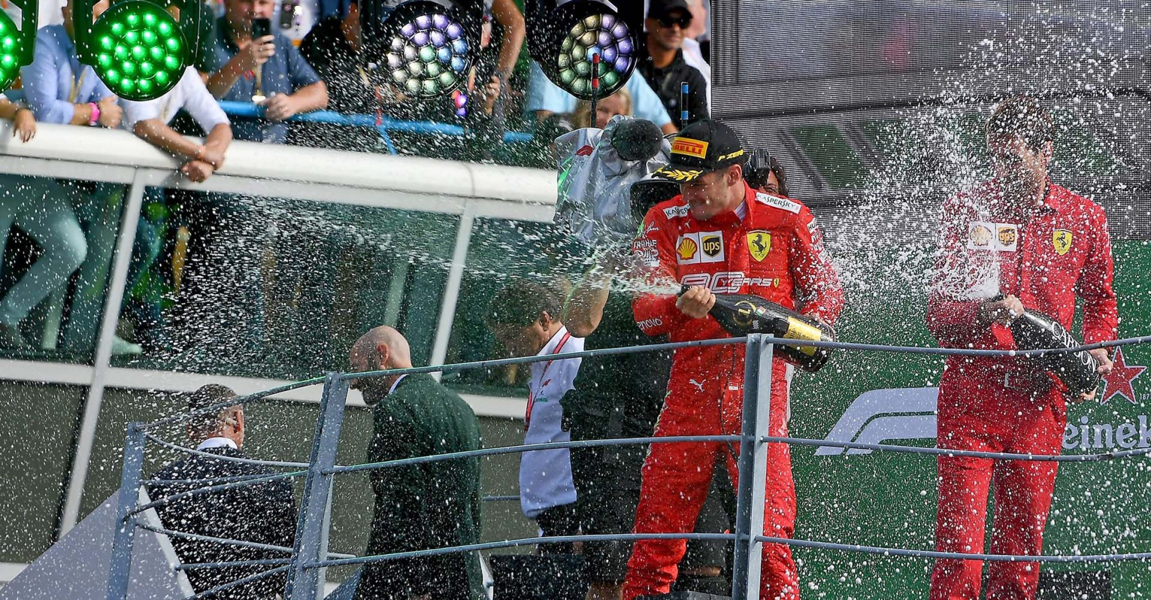 GP ITALIA F1/2019 - DOMENICA 08/09/2019 credit: @Scuderia Ferrari Press Office Charles Leclerc Ferrari