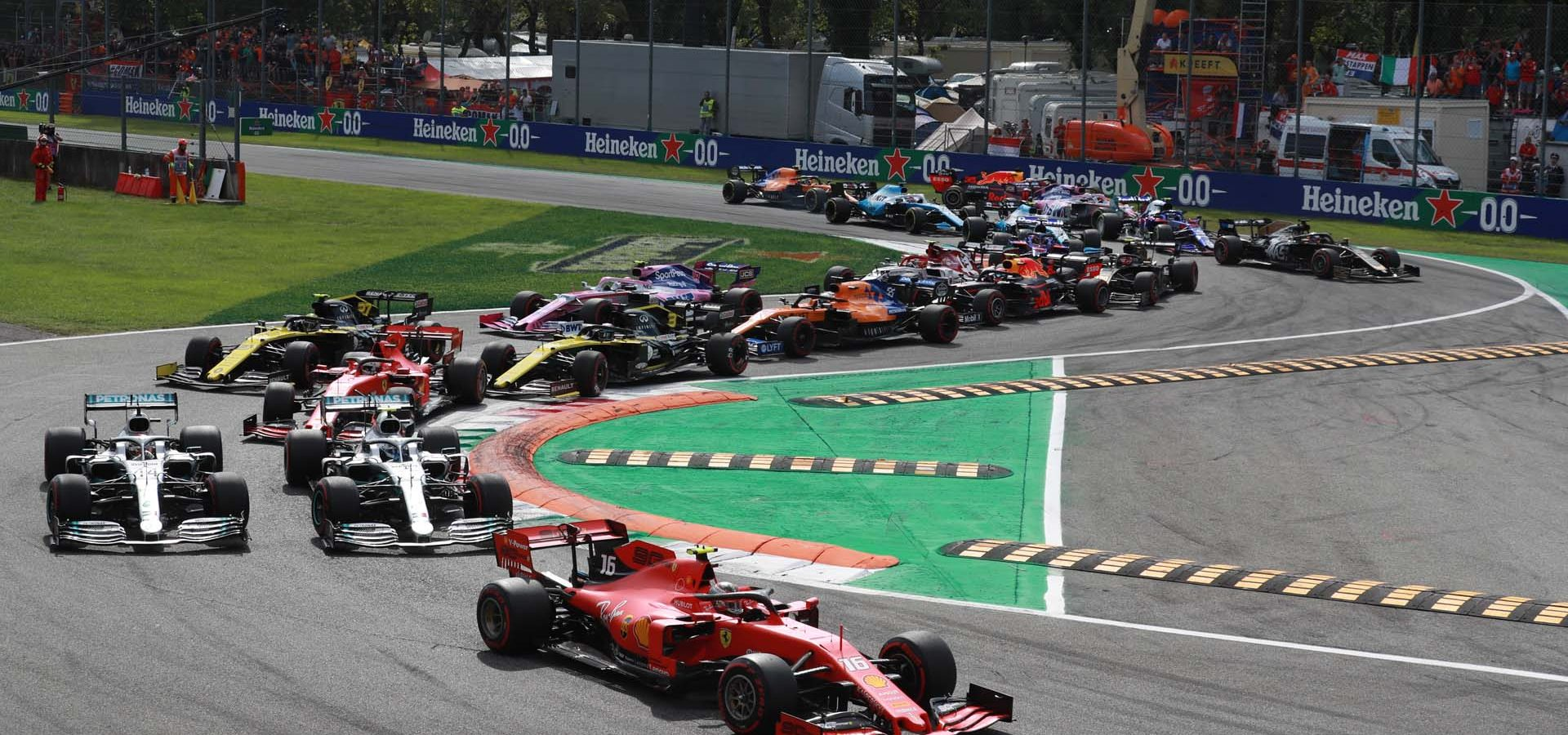 Italian Grand Prix, Monza, start