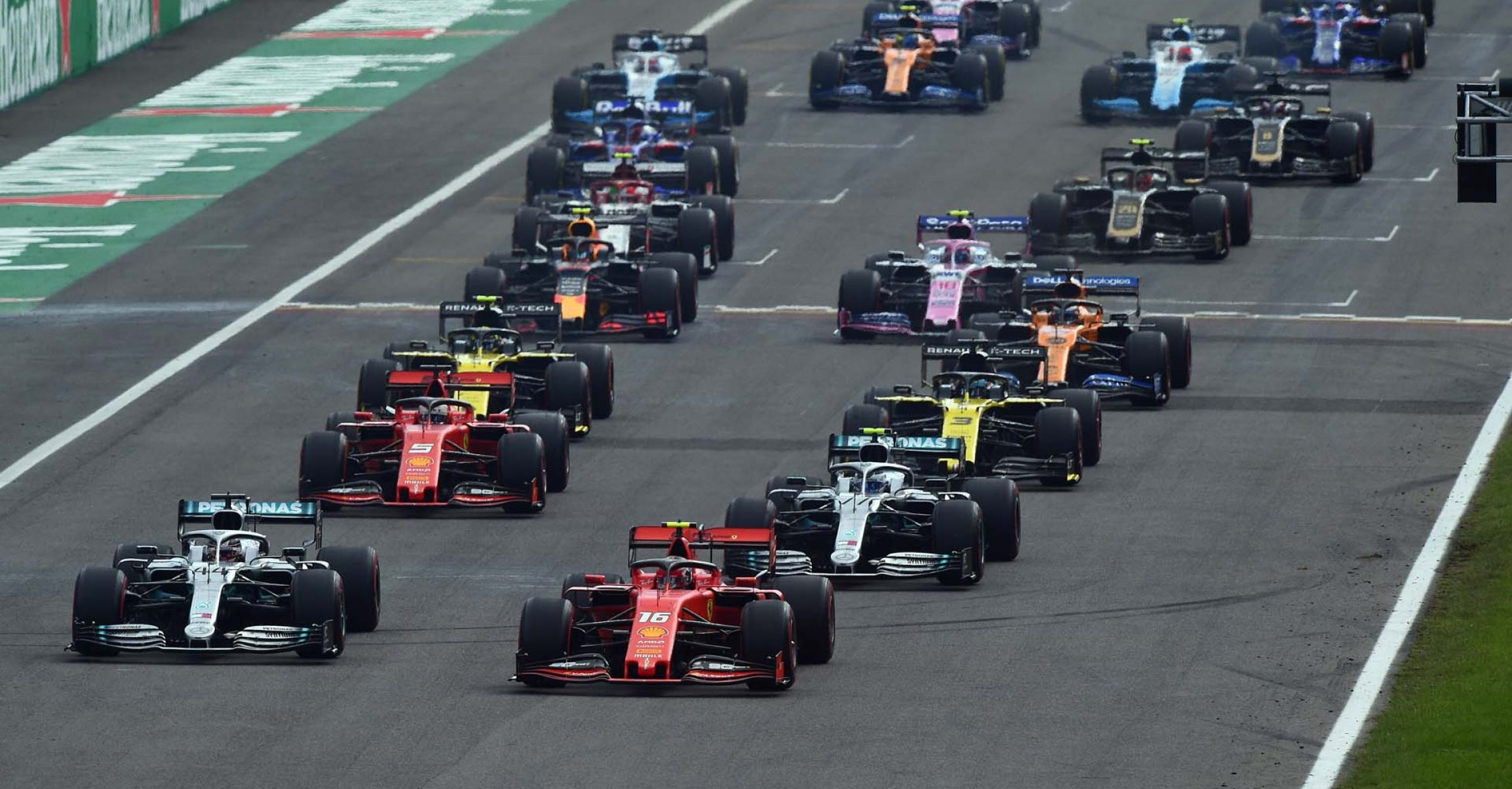 Italian Grand Prix, Start, Monza, 2019