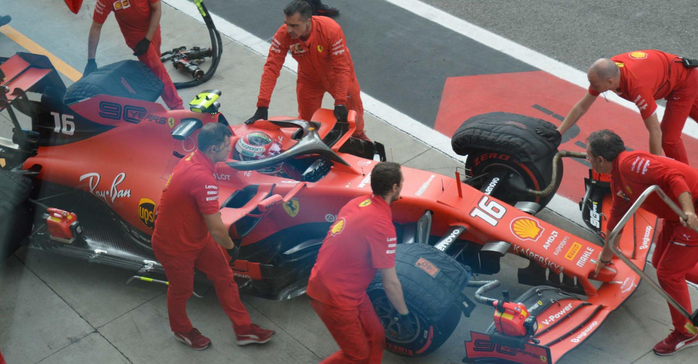 Charles Leclerc, Ferrari, Italian Grand Prix 2019, Monza