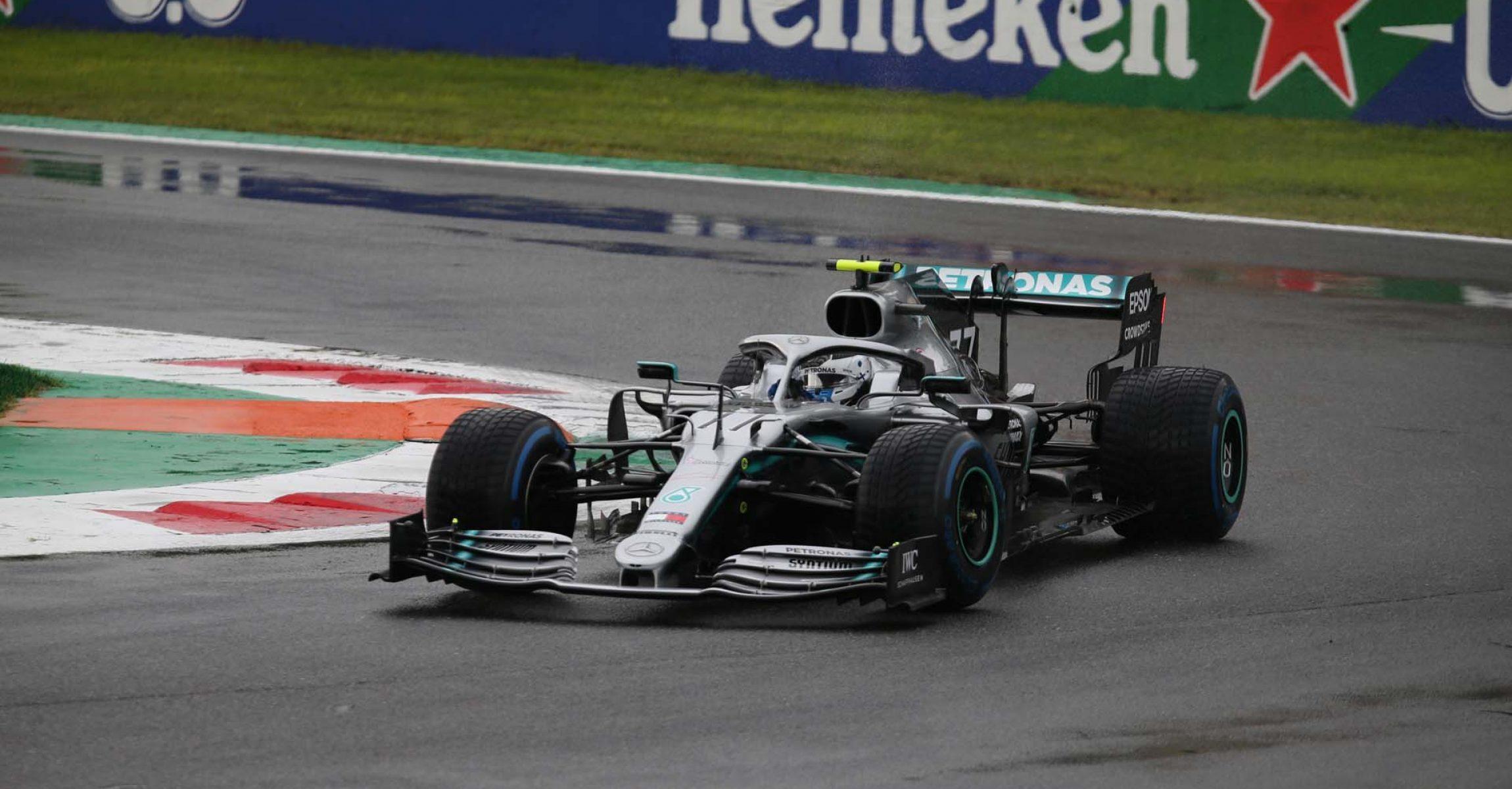 Italian Grand Prix 2019, Monza, Friday, Valtteri Bottas Mercedes