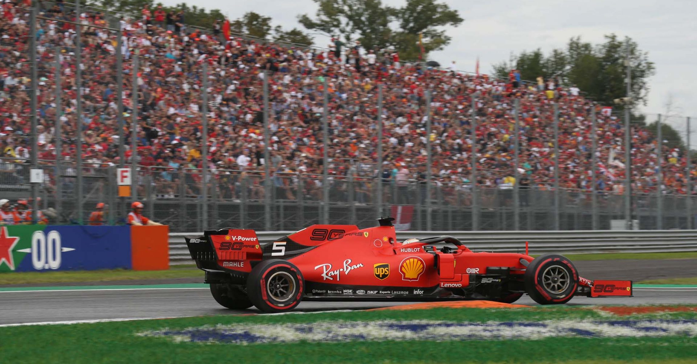Sebastian Vettel, Ferrari, Italian Grand Prix 2019, Monza, Saturday