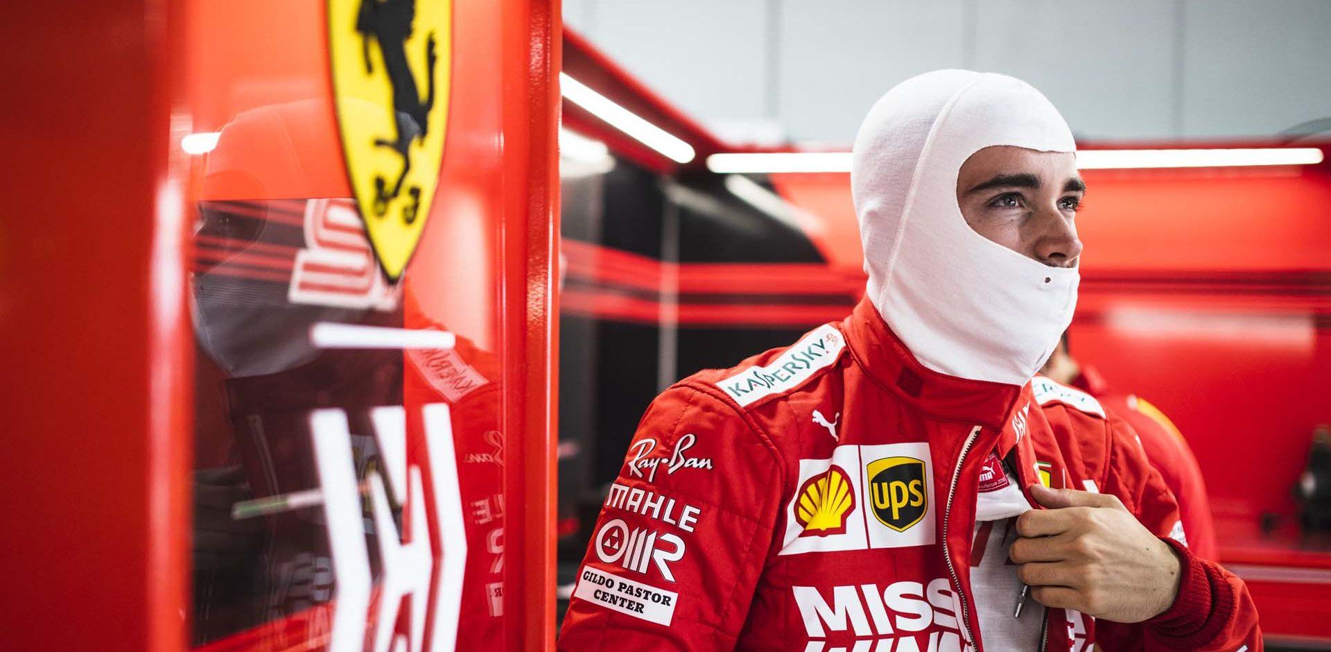 Charles Leclerc, Ferrari, Suzuka