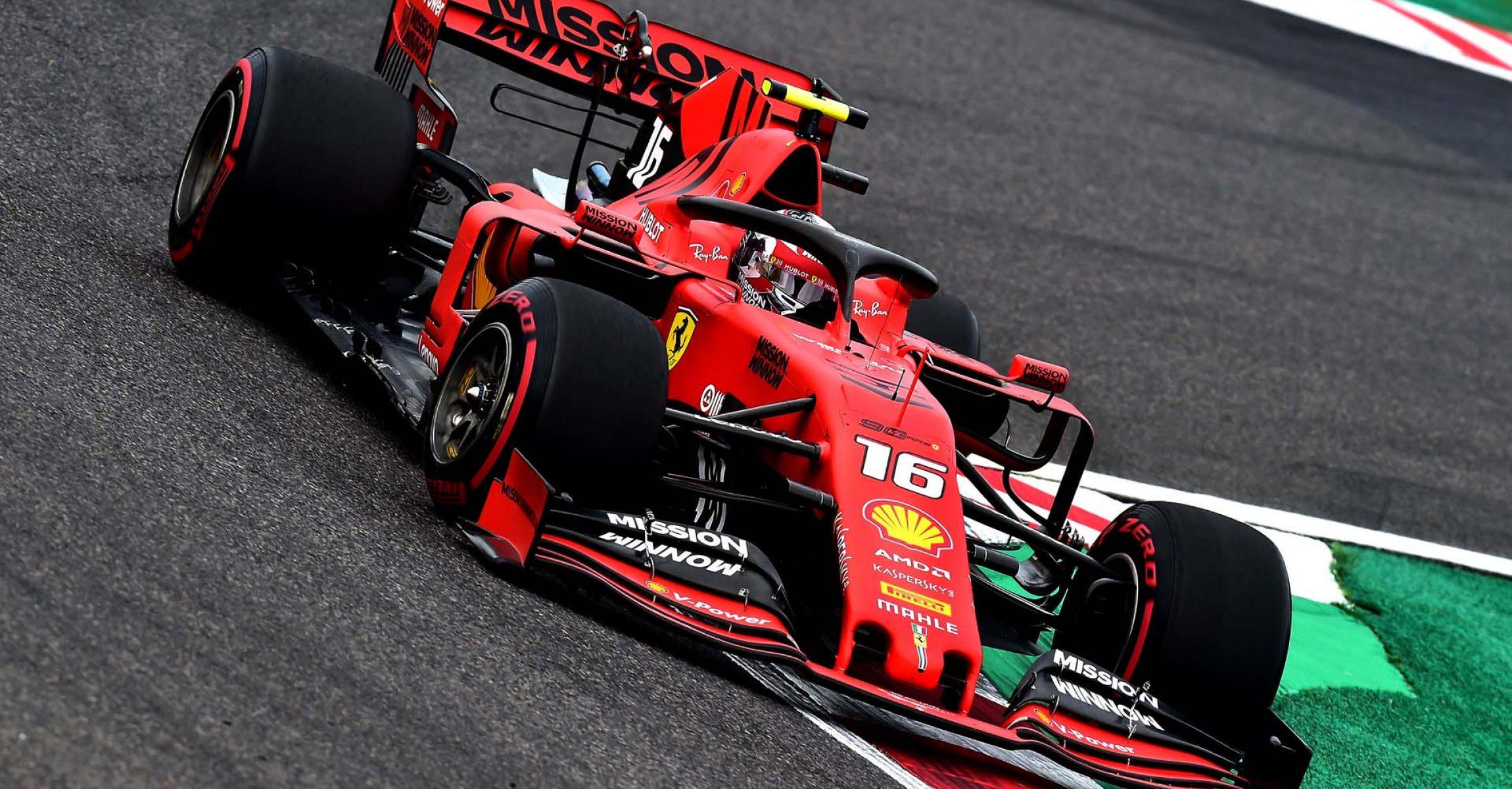 GP GIAPPONE F1/2019 - VENERDÌ 11/10/2019 credit: @Scuderia Charles Leclerc Ferrari Press Office
