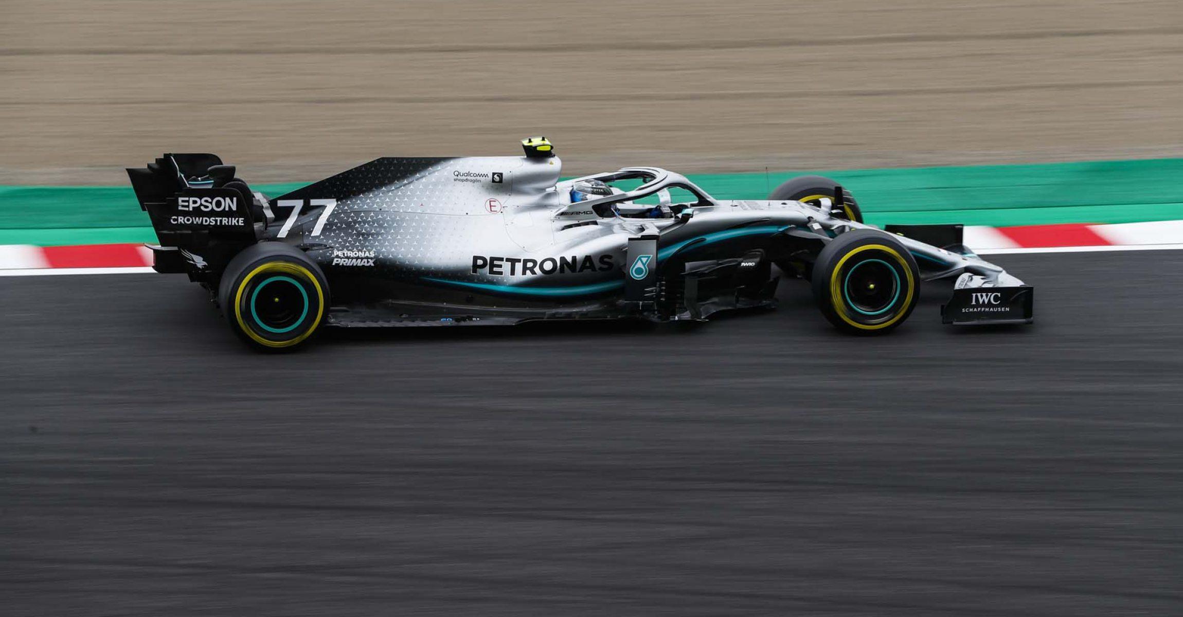 2019 Japanese Grand Prix, Friday - LAT Images Valtteri Bottas Mercedes