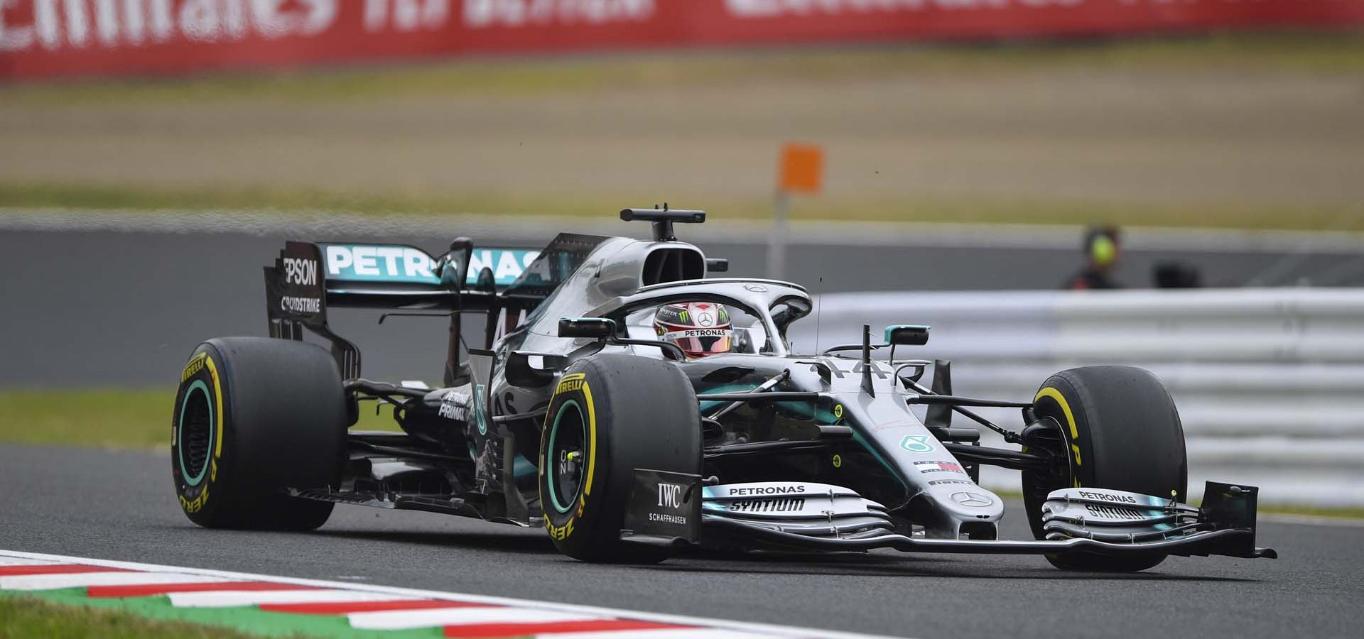 2019 Japanese Grand Prix, Friday - LAT Images Lewis Hamilton Mercedes