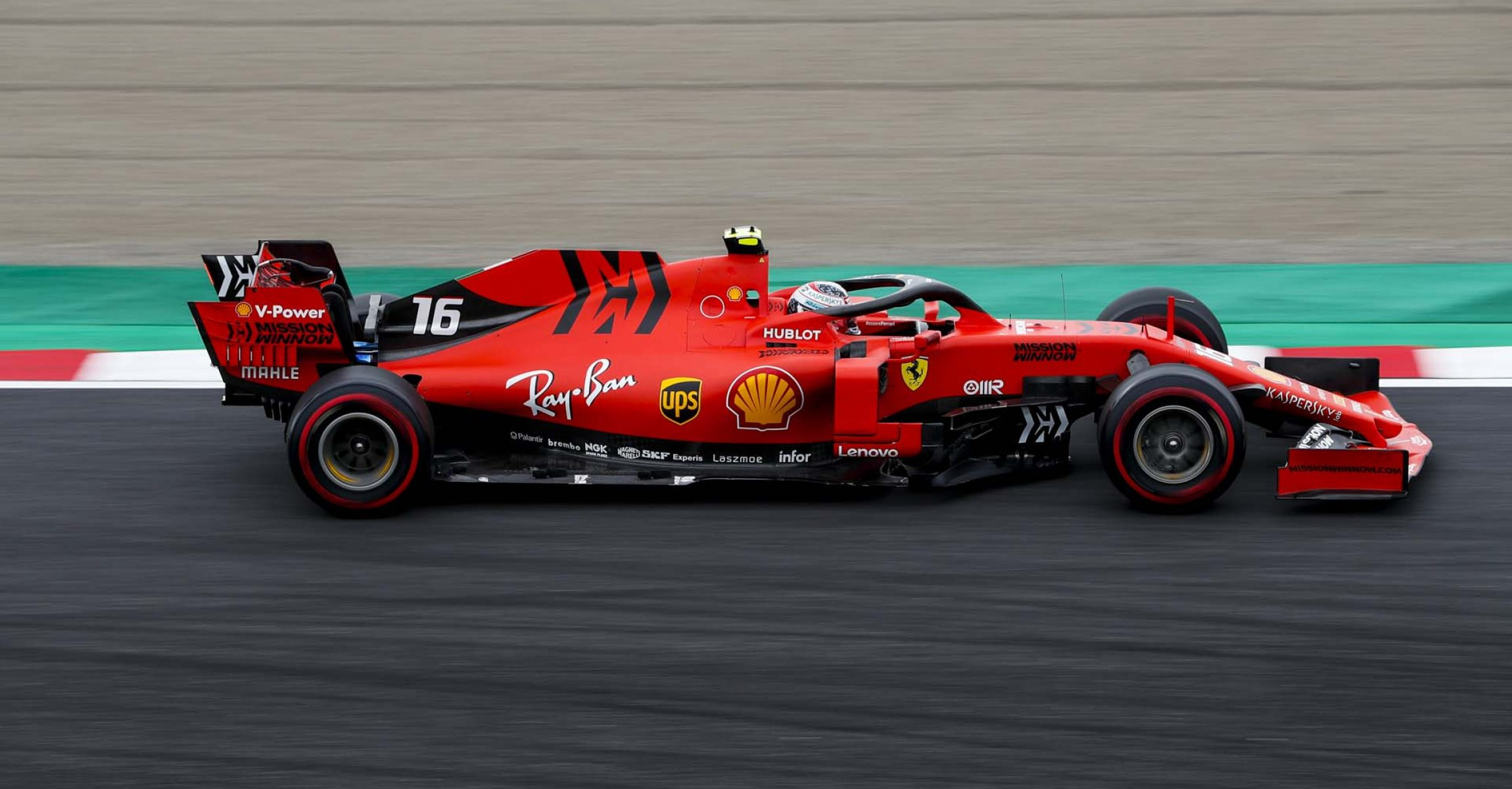 SUZUKA, JAPAN - OCTOBER 11: Charles Leclerc, Ferrari SF90 during the Japanese GP at Suzuka on October 11, 2019 in Suzuka, Japan. (Photo by Zak Mauger / LAT Images)