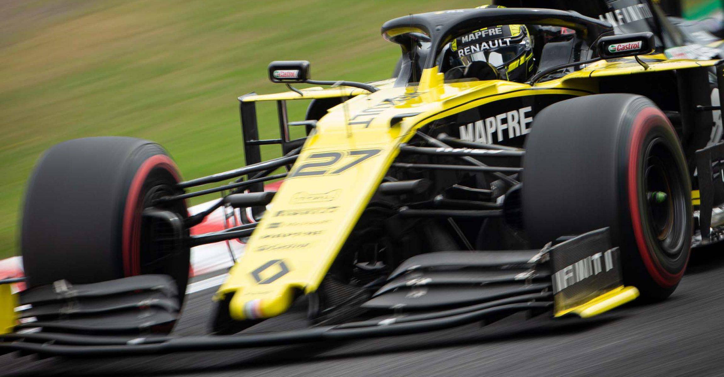 Nico Hulkenberg (GER) Renault F1 Team RS19. Japanese Grand Prix, Friday 11th October 2019. Suzuka, Japan. Hülkenberg