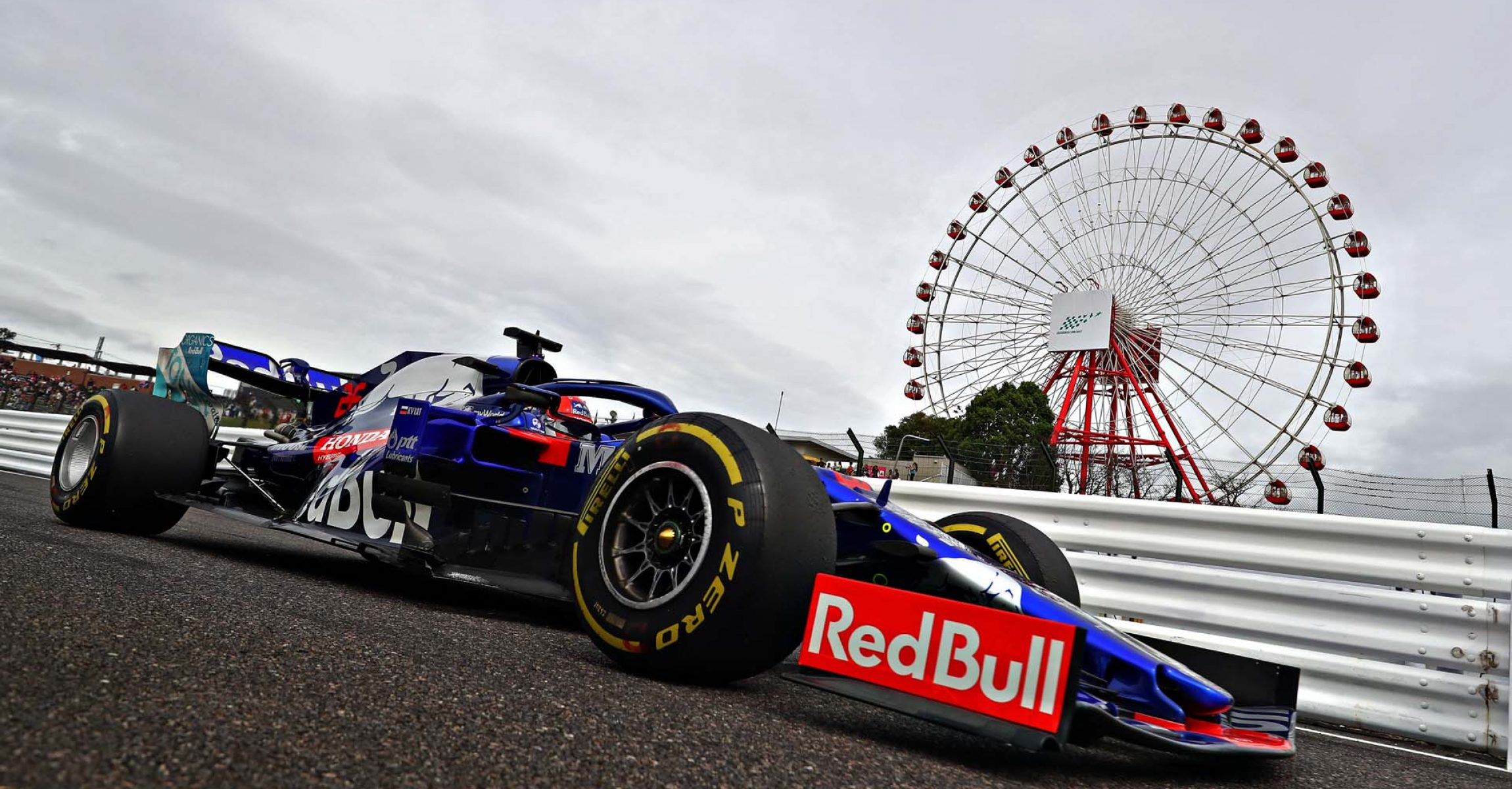 SUZUKA, JAPAN - OCTOBER 11: Daniil Kvyat driving the (26) Scuderia Toro Rosso STR14 Honda on track during practice for the F1 Grand Prix of Japan at Suzuka Circuit on October 11, 2019 in Suzuka, Japan. (Photo by Mark Thompson/Getty Images) // Getty Images / Red Bull Content Pool  // AP-21U9APAVH1W11 // Usage for editorial use only //