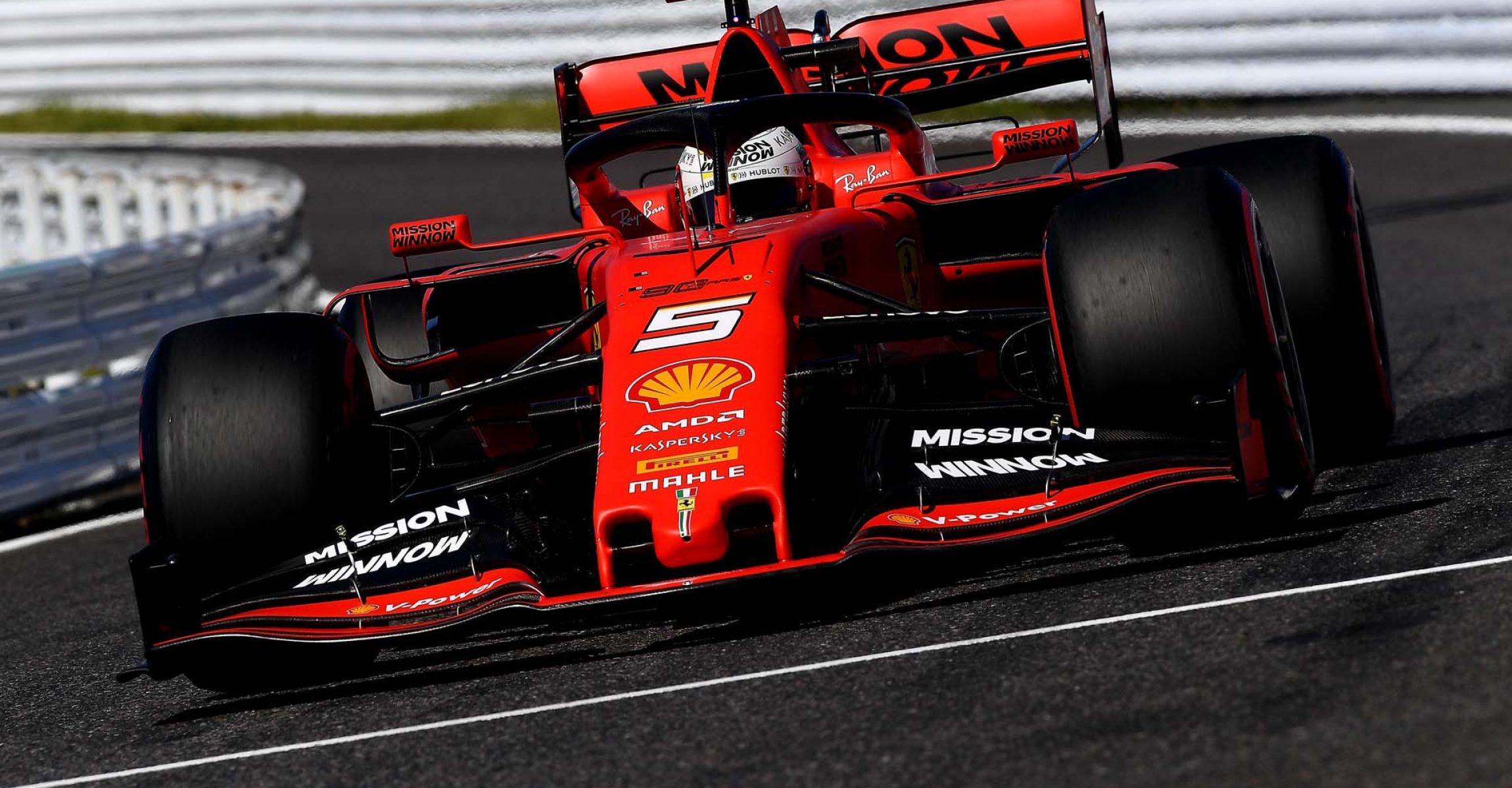 GP GIAPPONE F1/2019 -  DOMENICA 13/10/2019   credit: @Scuderia Ferrari Press Office Sebastian Vettel