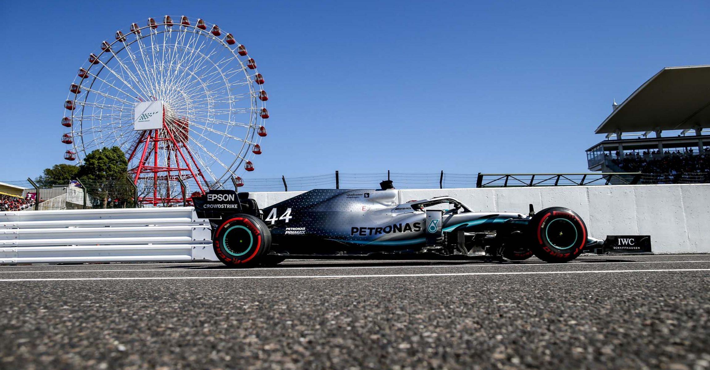 2019 Japanese Grand Prix, Sunday - Wolfgang Wilhelm Lewis Hamilton Mercedes
