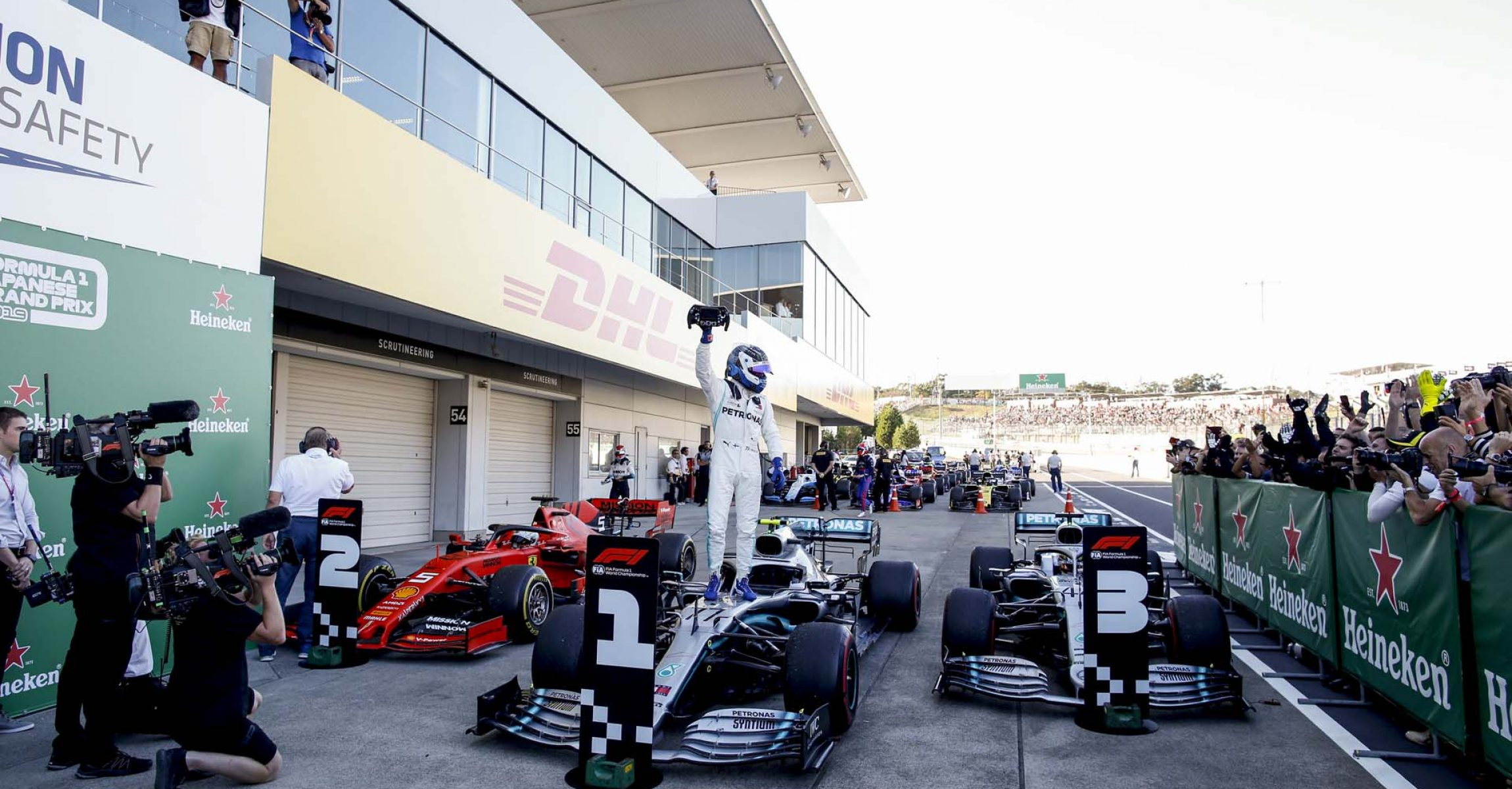 2019 Japanese Grand Prix, Sunday - Wolfgang Wilhelm Valtteri Bottas, Mercedes