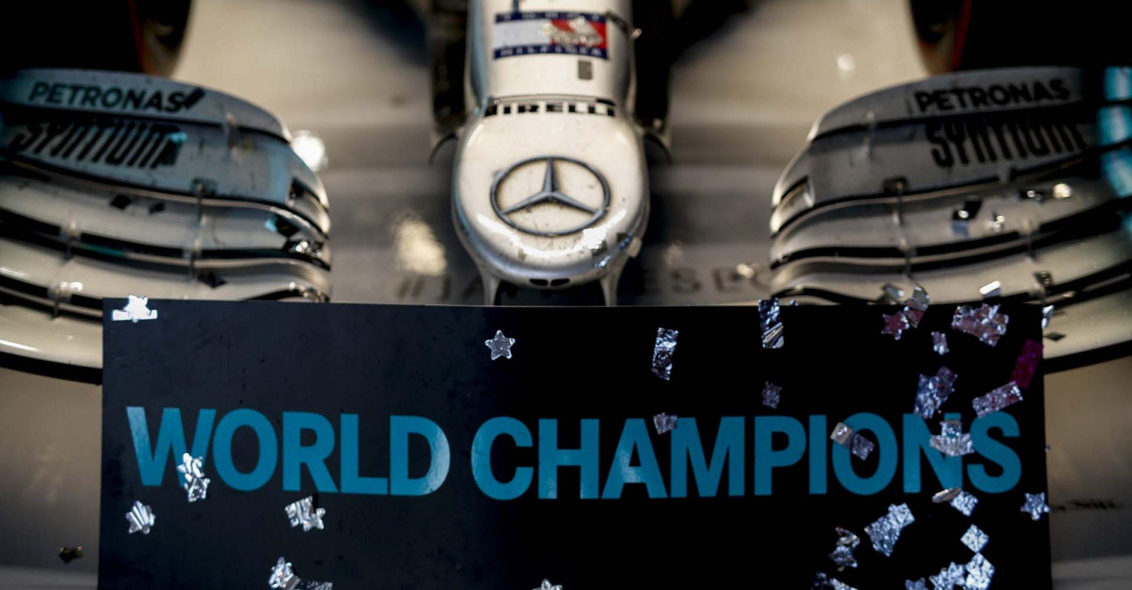 2019 Japanese Grand Prix, Sunday - Wolfgang Wilhelm Mercedes constructor champions