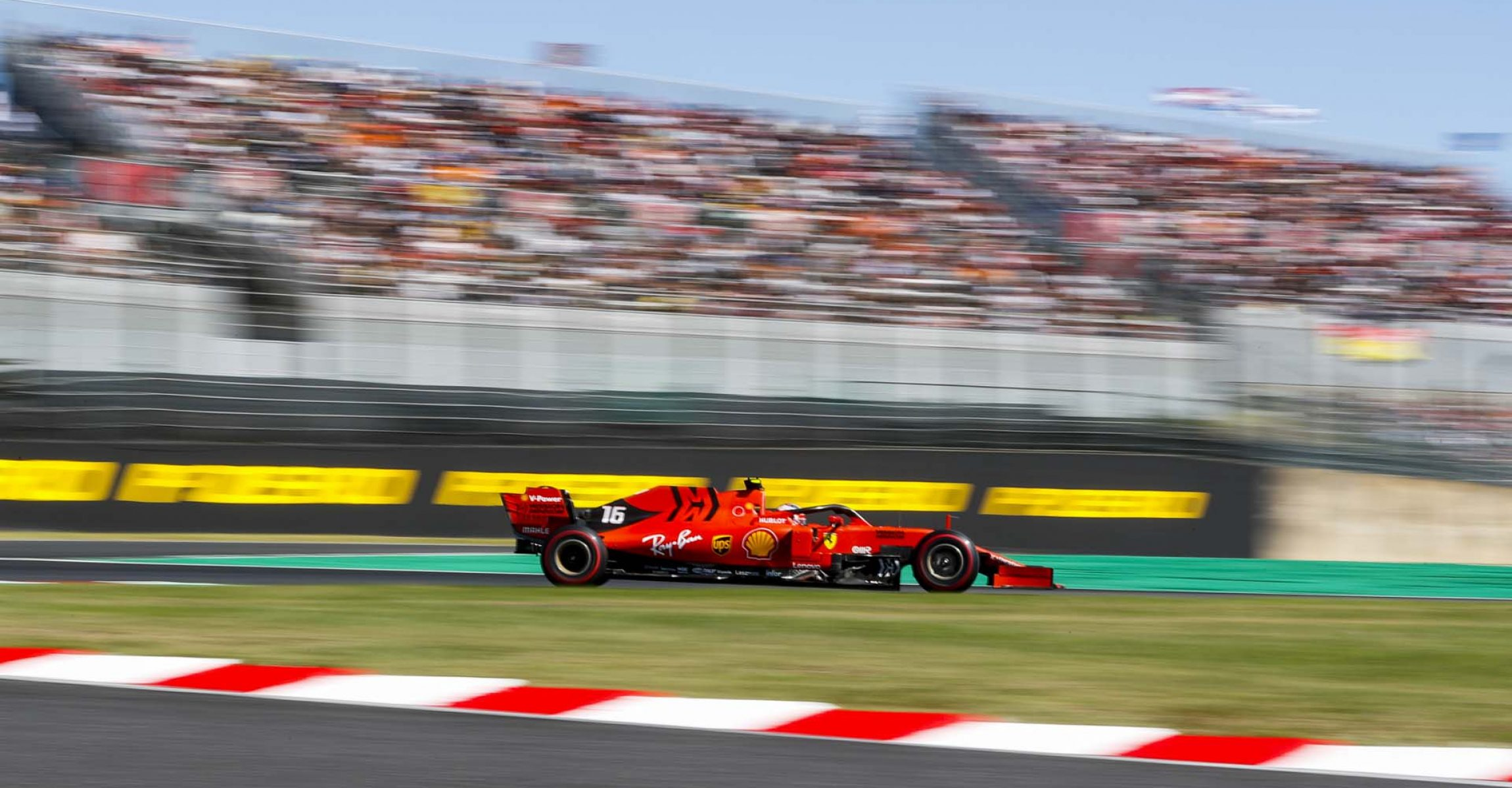 SUZUKA, JAPAN - OCTOBER 13: Charles Leclerc, Ferrari SF90 during the Japanese GP at Suzuka on October 13, 2019 in Suzuka, Japan. (Photo by Steven Tee / LAT Images)