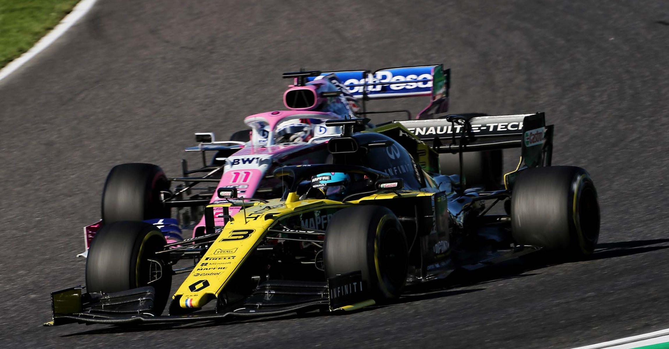 Daniel Ricciardo (AUS) Renault F1 Team RS19. Japanese Grand Prix, Sunday 13th October 2019. Suzuka, Japan.