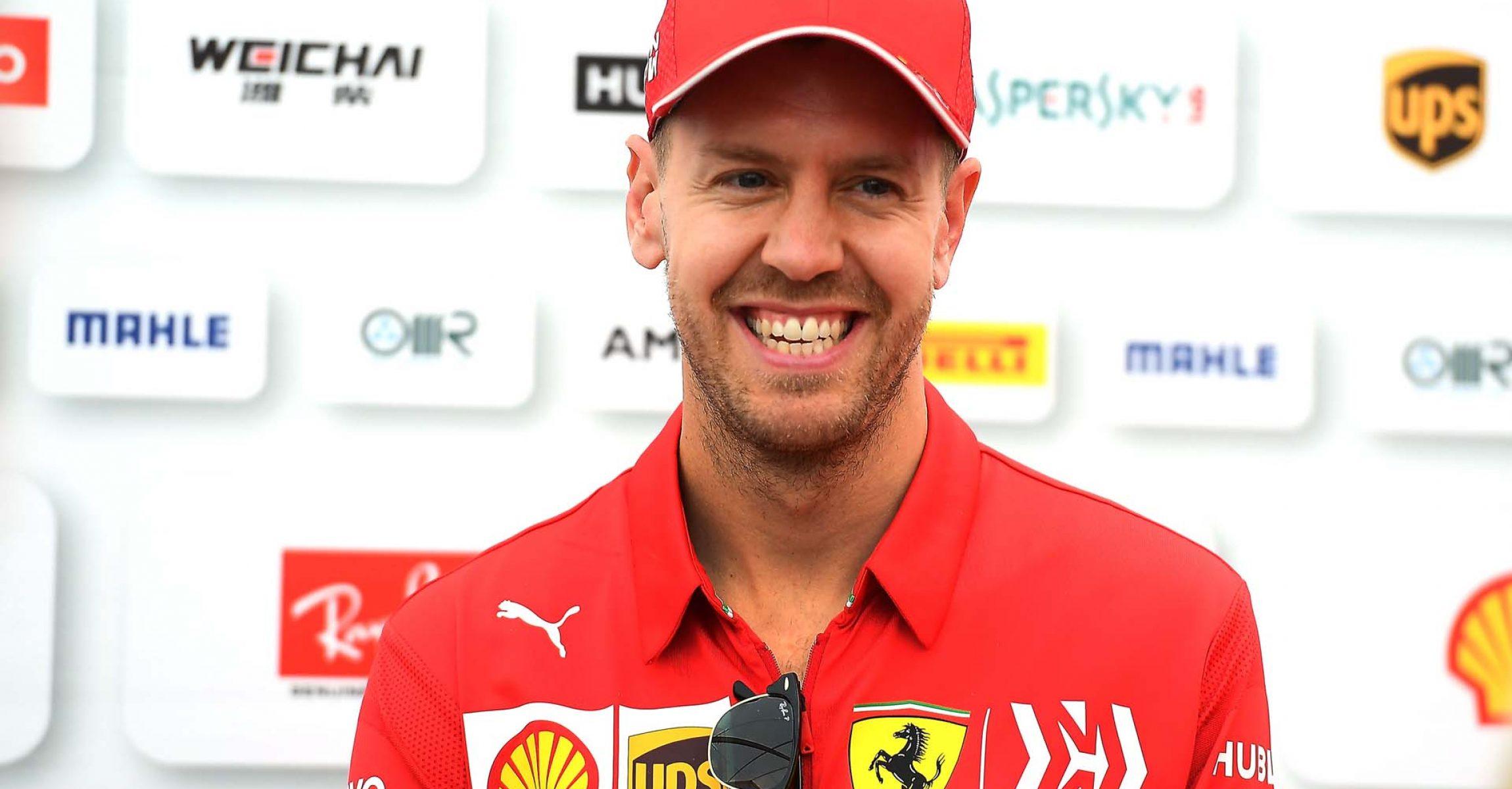 GP GIAPPONE F1/2019 - GIOVEDÌ 10/10/2019 credit: @Scuderia Ferrari Press Office Sebastian Vettel