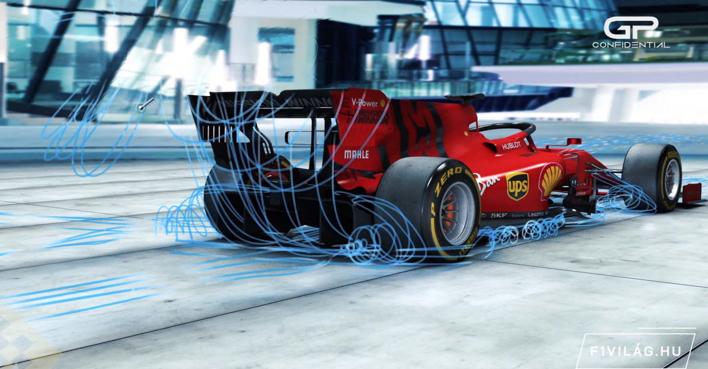 A GP VILÁGA, Ferrari animation