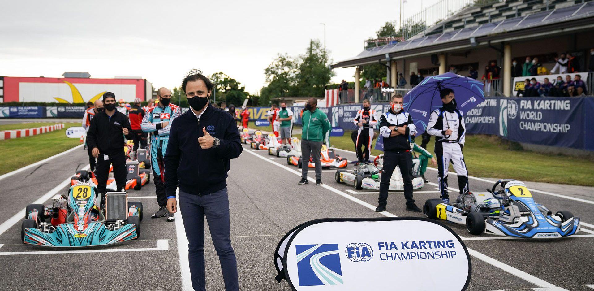 , , , , , FIA Karting World Championship – KZ, FIA Karting International Super Cup – KZ2 & FIA Karting Academy Trophy , LONATO, International Race, © KSP Reportages Felipe Massa