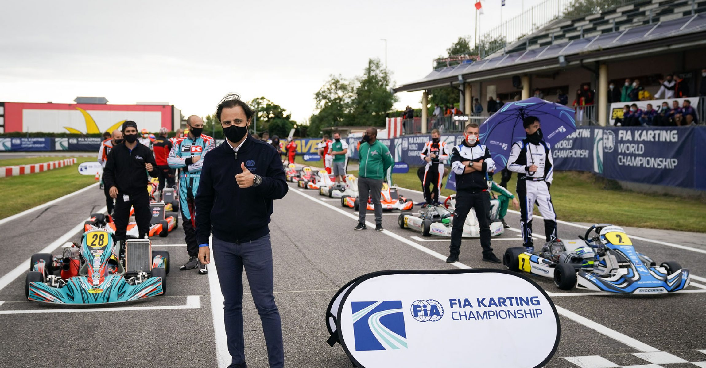 , , , , , FIA Karting World Championship – KZ, FIA Karting International Super Cup – KZ2 & FIA Karting Academy Trophy , LONATO, International Race, © KSP Reportages Felipe Massa