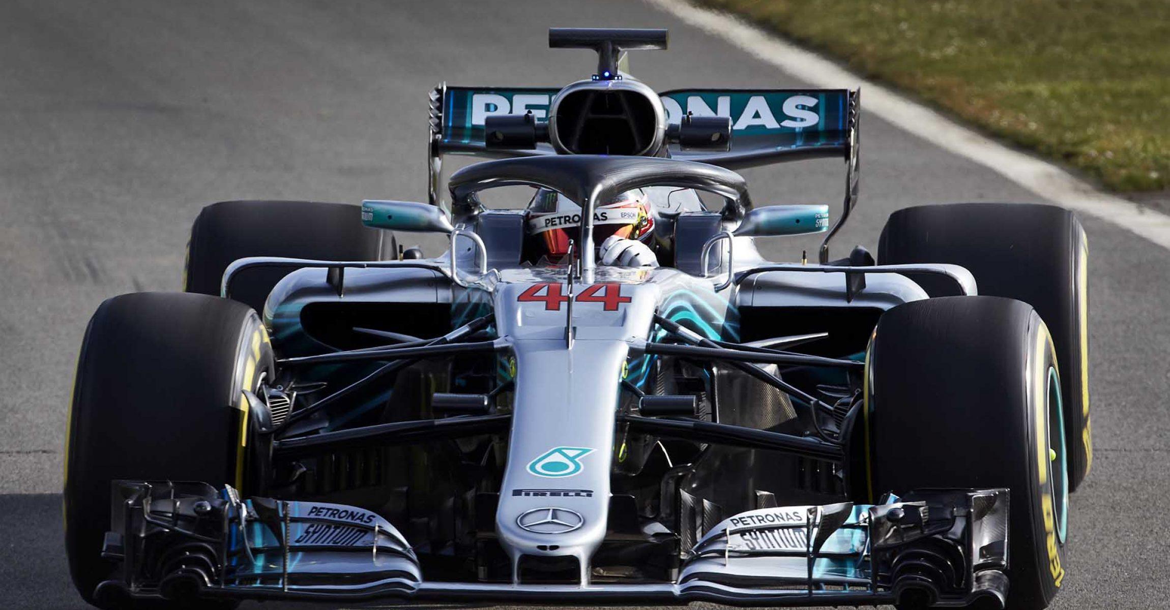 F1 W09 EQ Power+ Launch, Silverstone - Steve Etherington Lewis Hamilton Mercedes