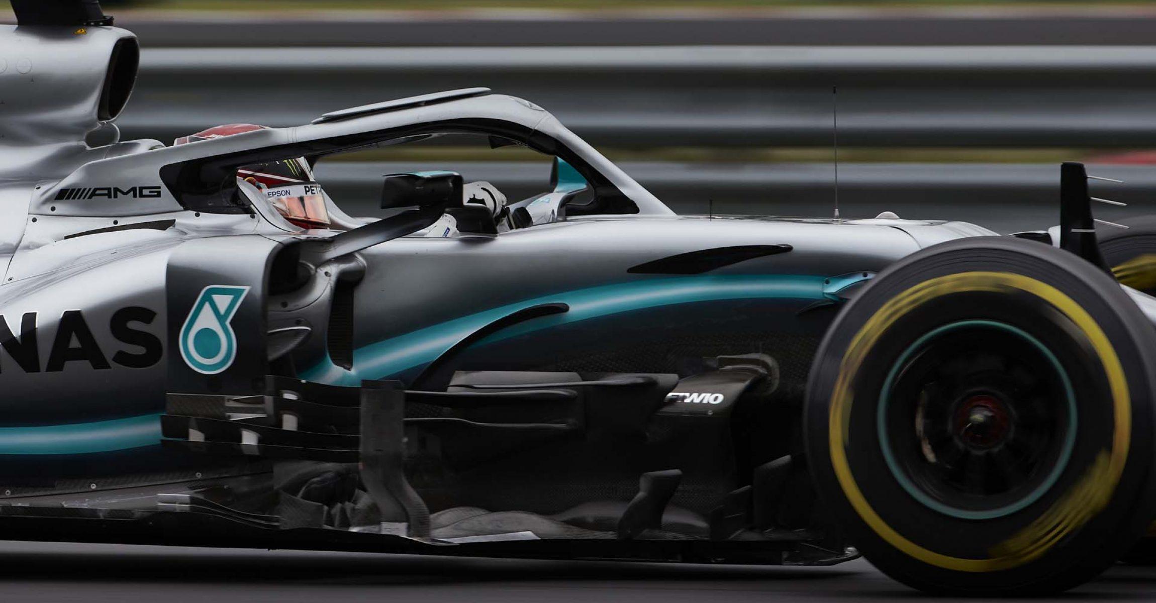 2019 Hungarian Grand Prix, Friday - Steve Etherington Lewis Hamilton Mercedes