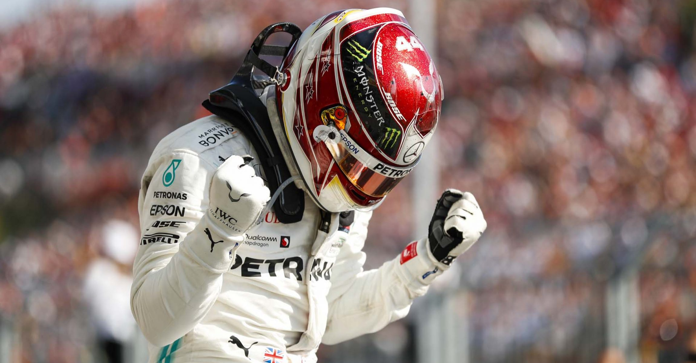 2019 Hungarian Grand Prix, Sunday - LAT Images Lewis Hamilton Mercedes