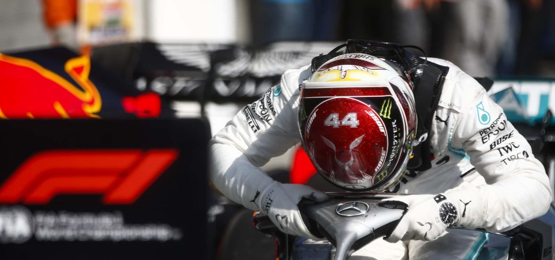 2019 Hungarian Grand Prix, Sunday - LAT Images Lewis Hamilton Mercedes