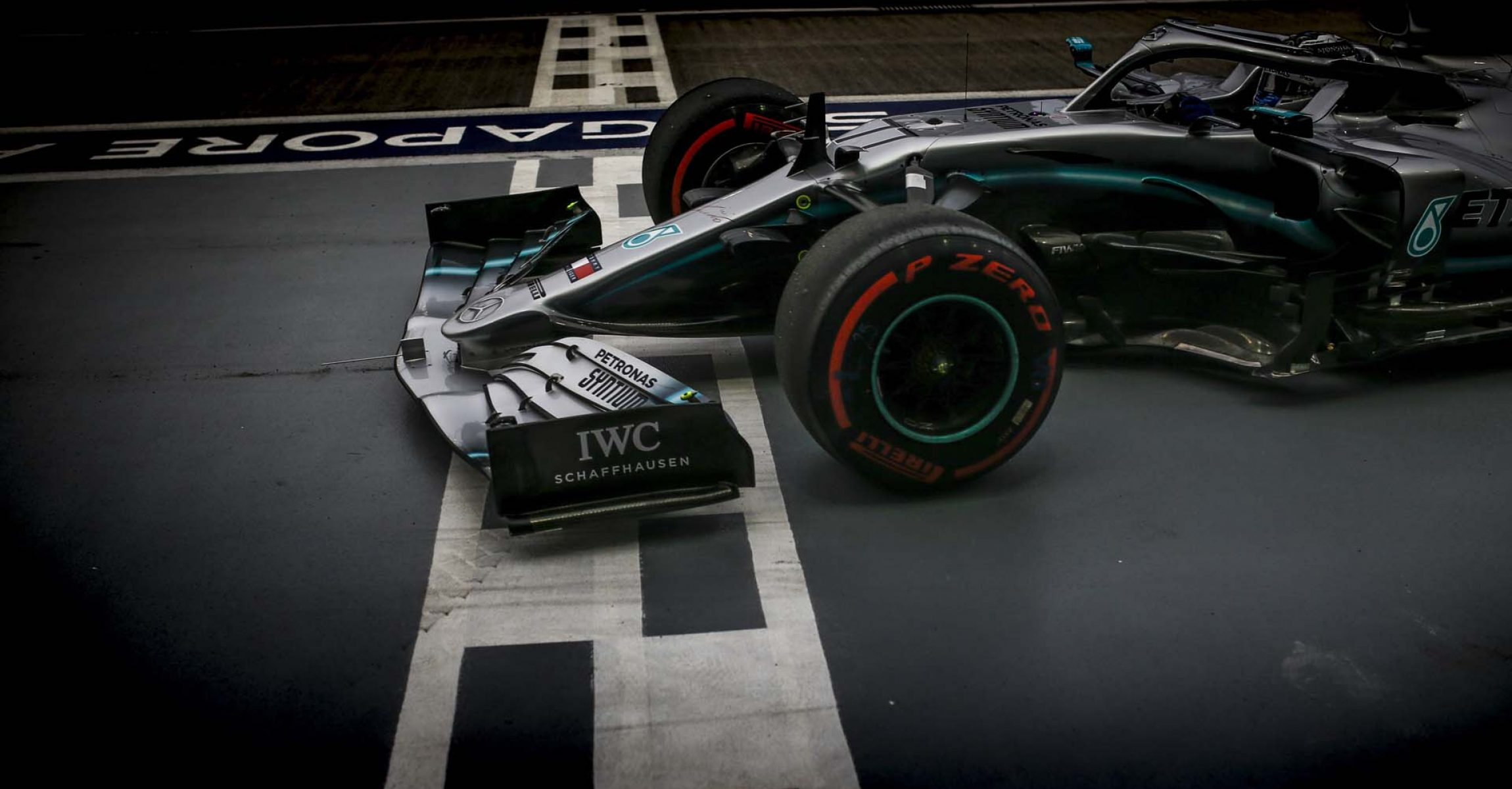 2019 Singapore Grand Prix, Friday - Wolfgang Wilhelm Valtteri Bottas Mercedes