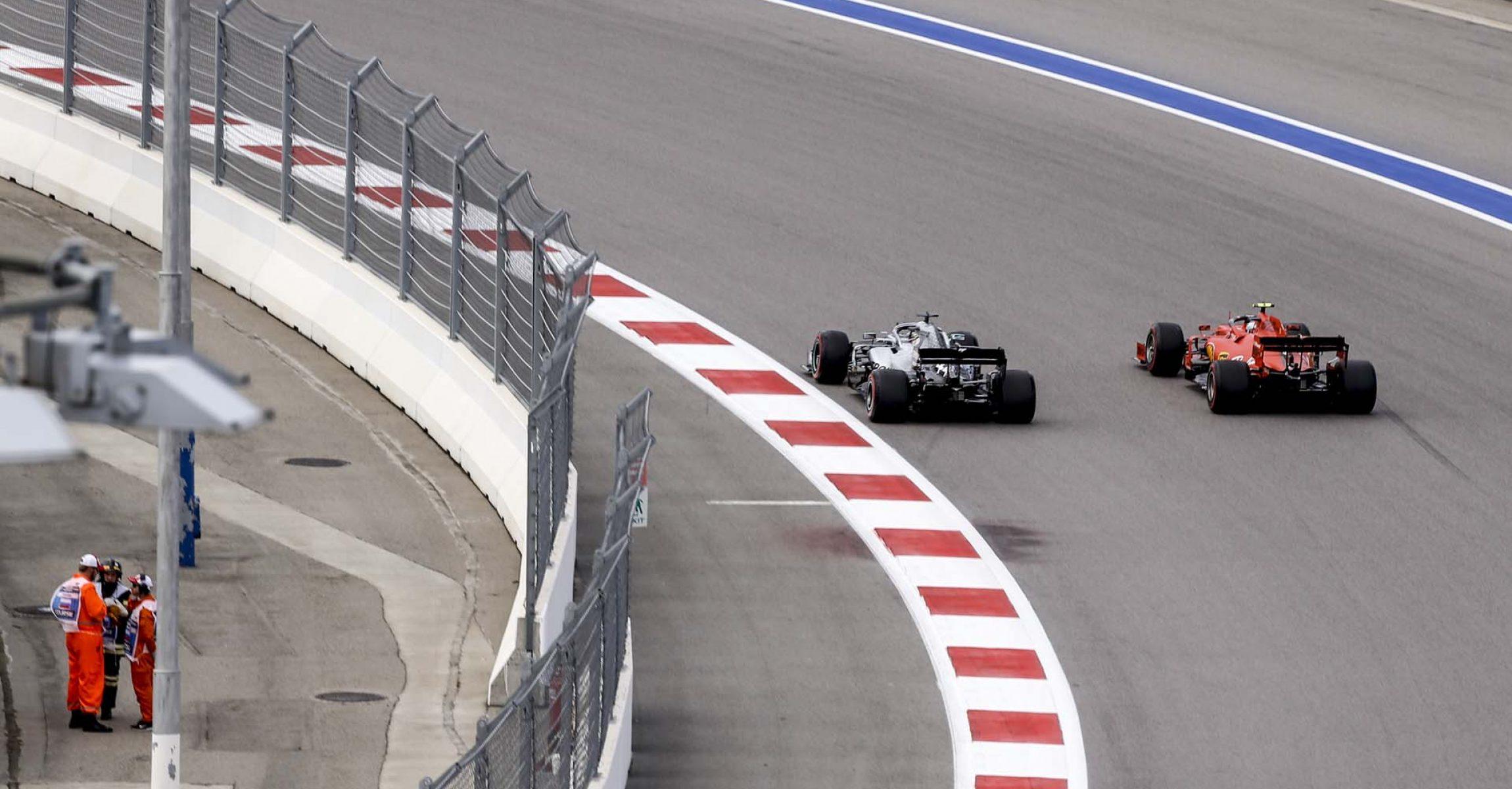 2019 Russian Grand Prix, Saturday - Wolfgang Wilhelm Lewis Hamilton Mercedes Charles Leclerc Ferrari