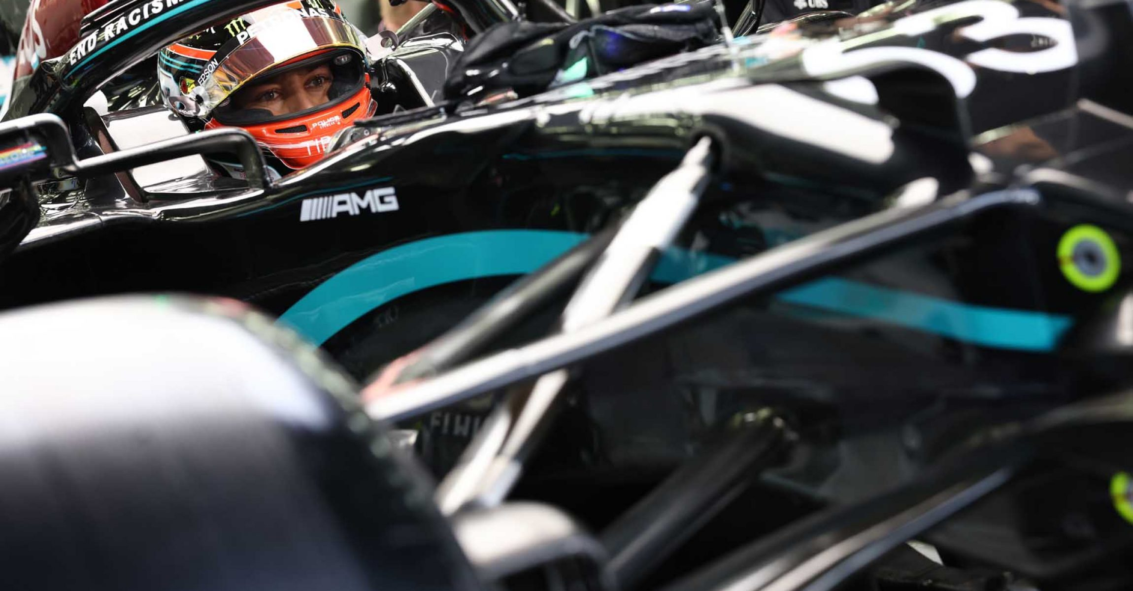 2020 Sakhir Grand Prix, Friday – Steve Etherington George Russell Mercedes