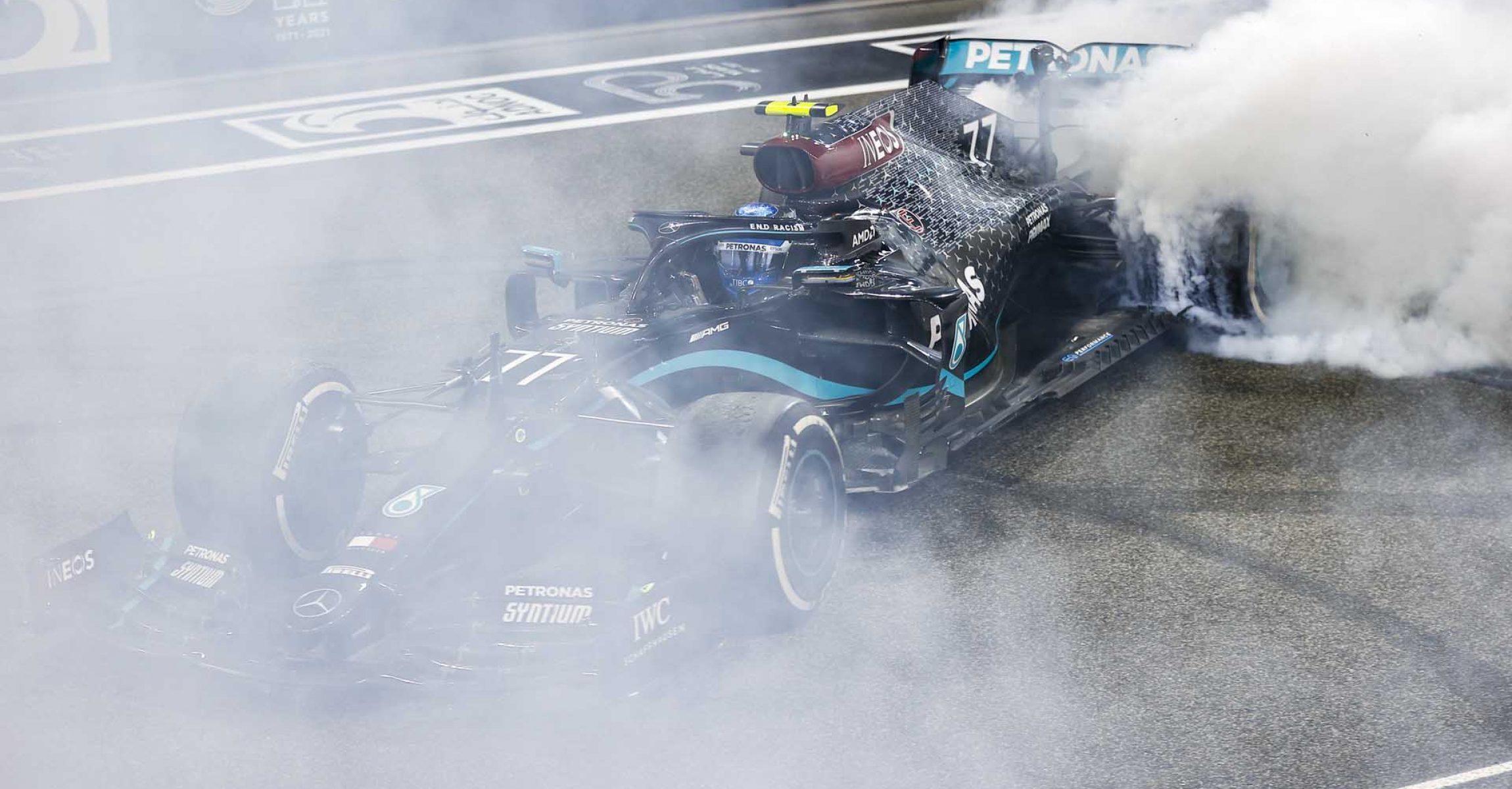 2020 Abu Dhabi Grand Prix, Sunday - LAT Images Valtteri Bottas Mercedes