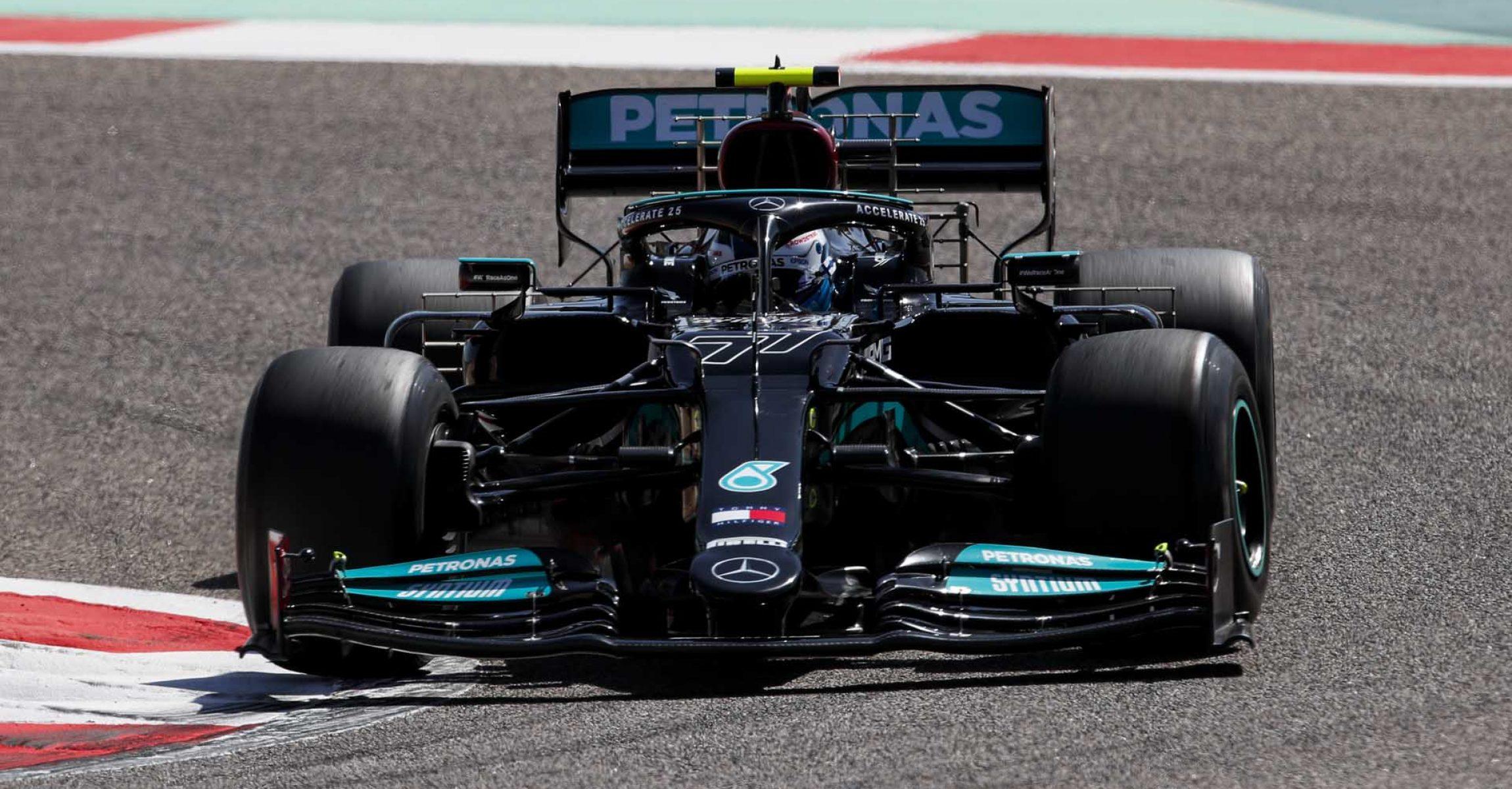 2021 Bahrain Pre-Season Test, Day 3 - LAT Images Valtteri Bottas Mercedes