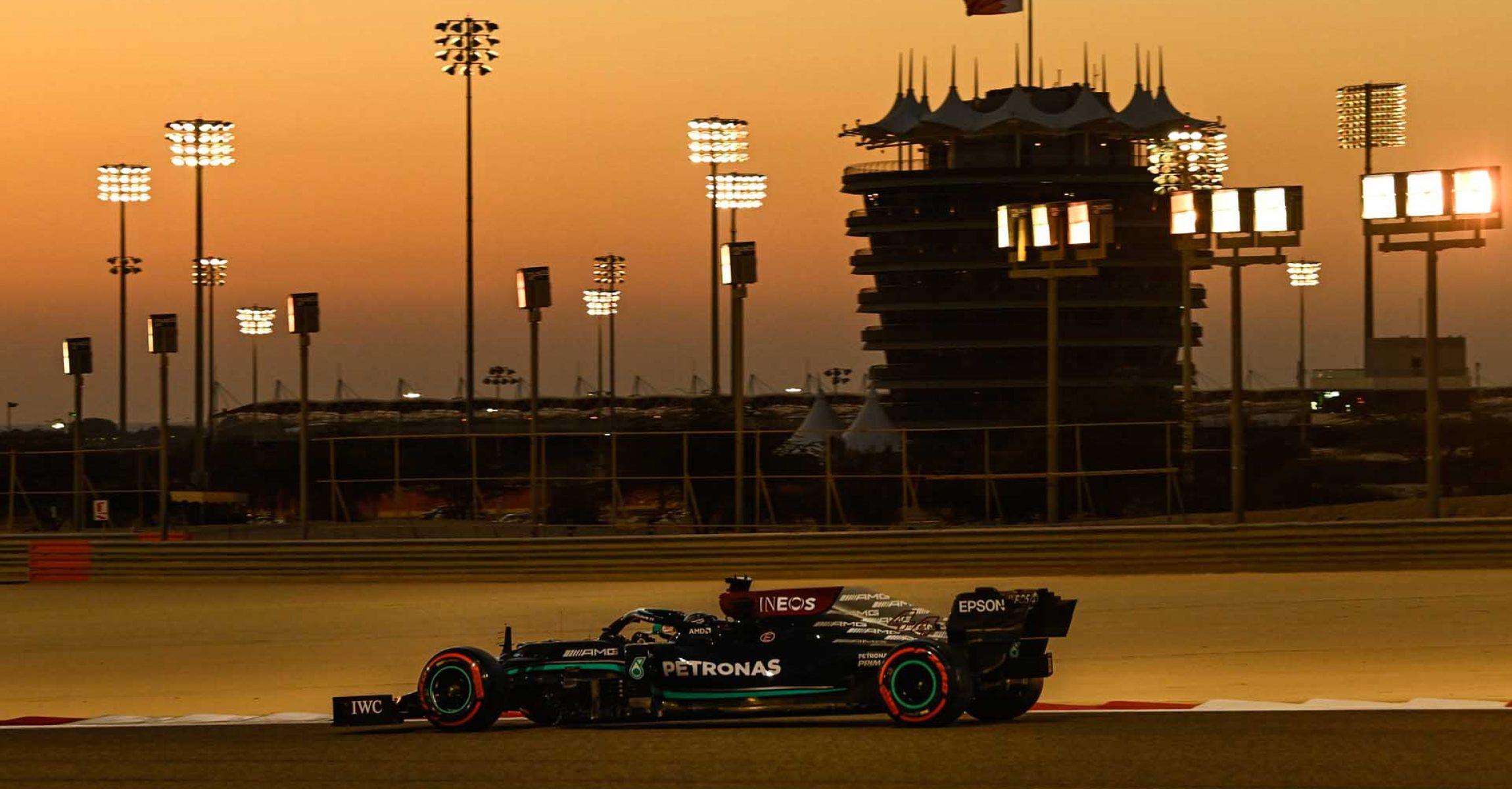 2021 Bahrain Pre-Season Test, Day 3 - LAT Images Mercedes Lewis Hamilton