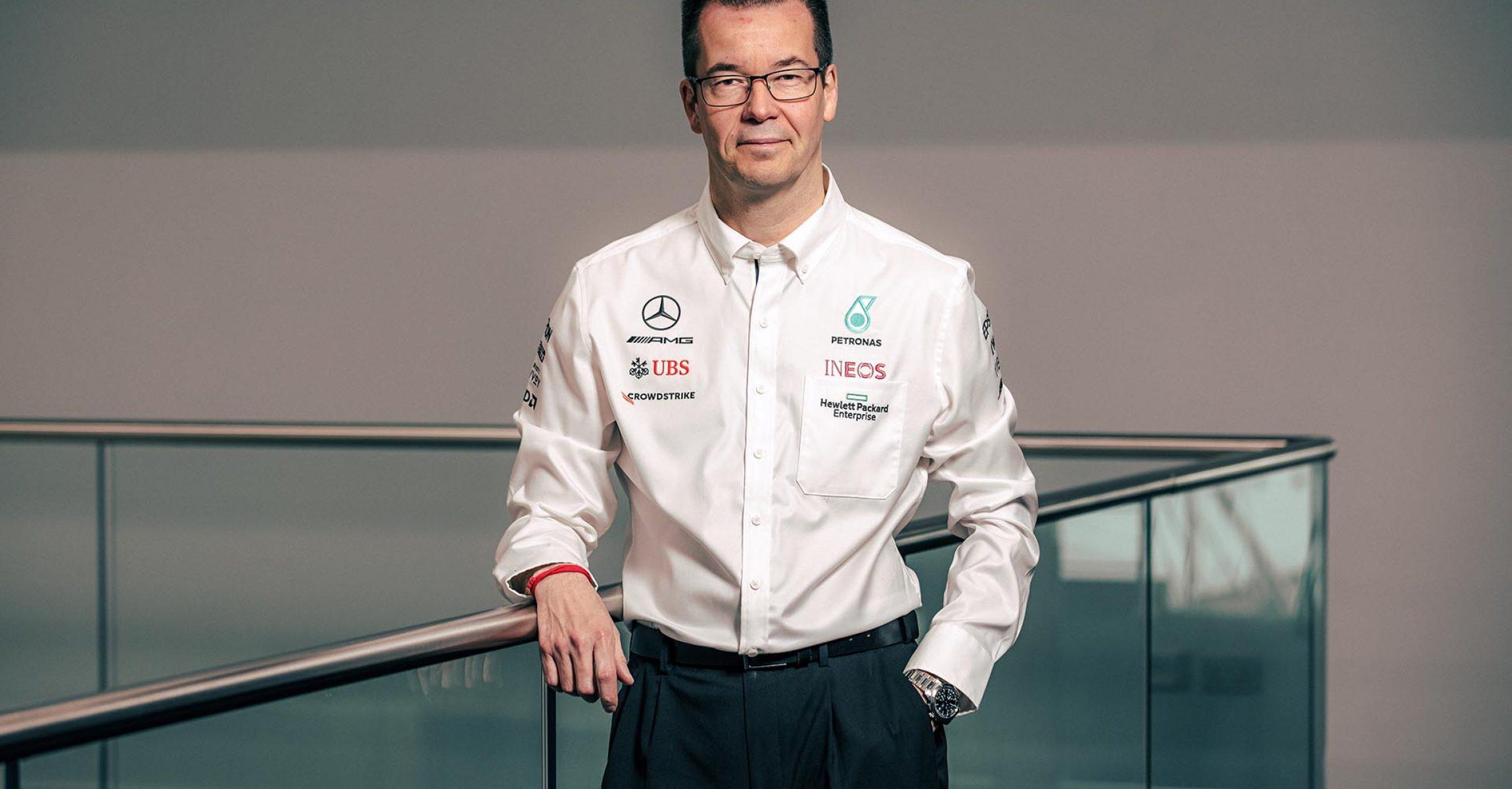 Mike Elliott, Mercedes