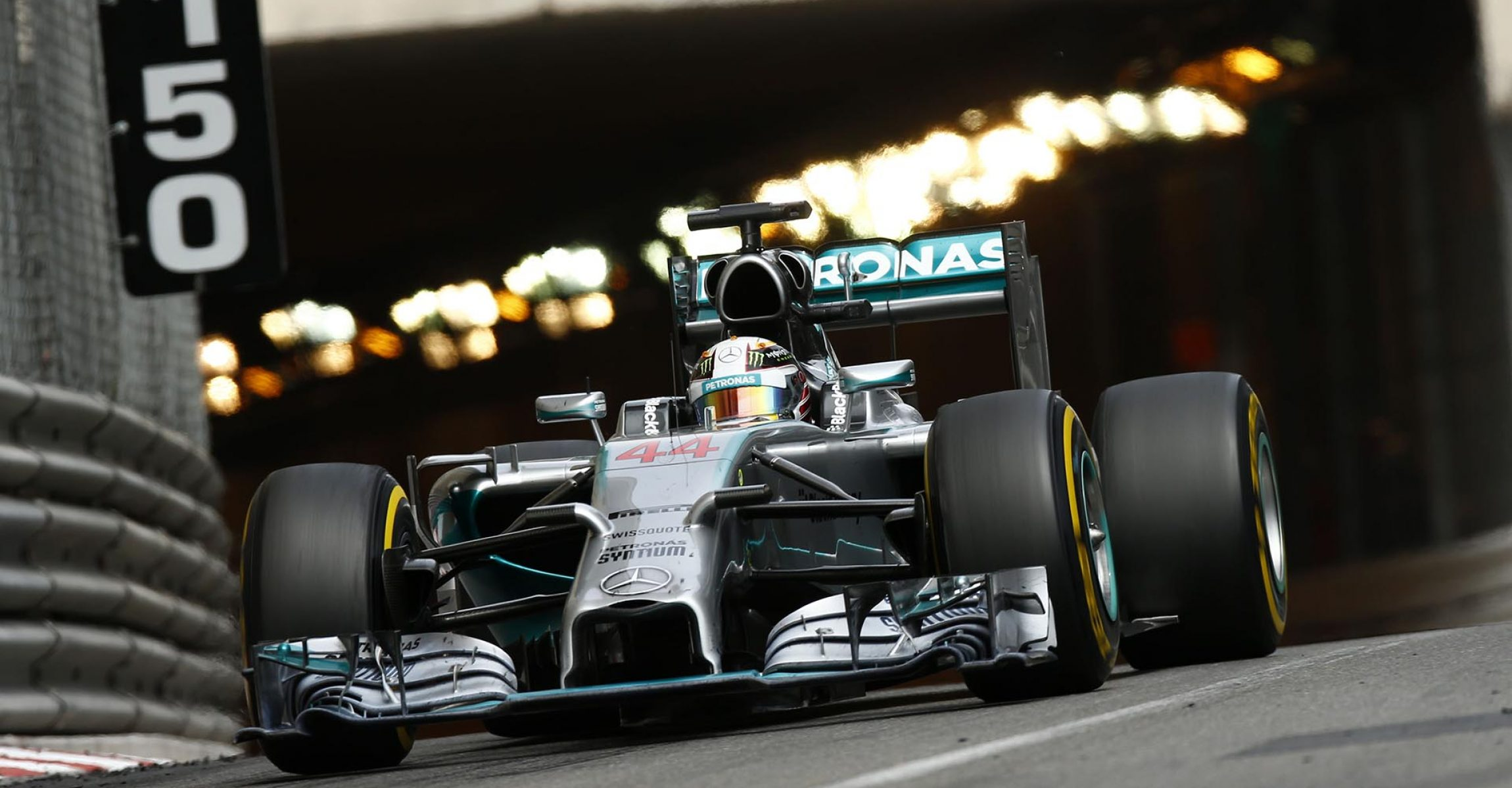 2014 Monaco Grand Prix, Sunday - Wolfgang Wilhelm Lewis Hamilton Mercedes