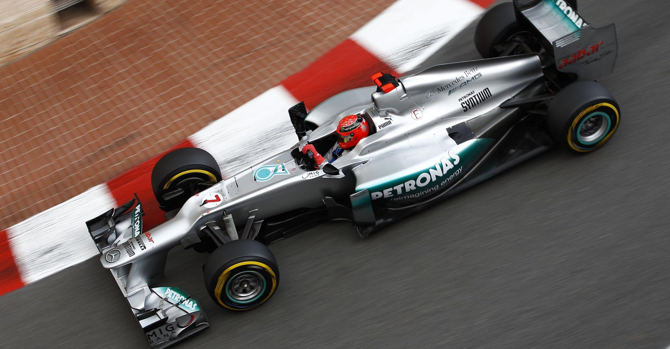 Michael Schumacher #7# (GER), Mercedes AMG Petronas F1 Team (GER).Sixth race 2012 Formula one Monaco Grand Prix, Monte carlo. Photo: activepictures/jiri krenek 2012 Monaco Grand Prix, Thursday - Wolfgang Wilhelm
